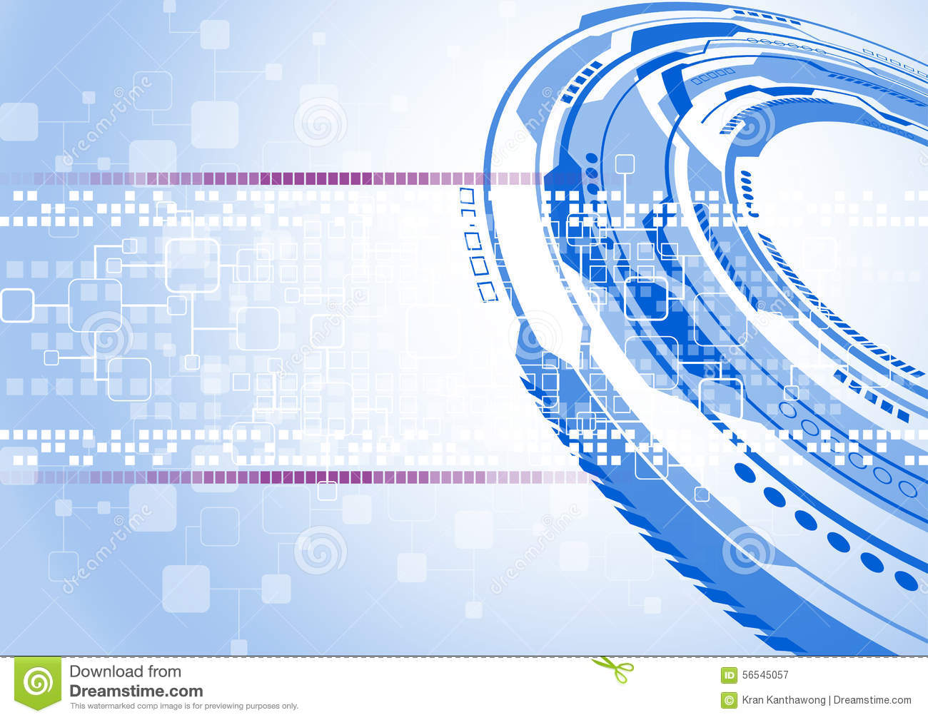 Abstract Vector Engineering Technology Background Design ...