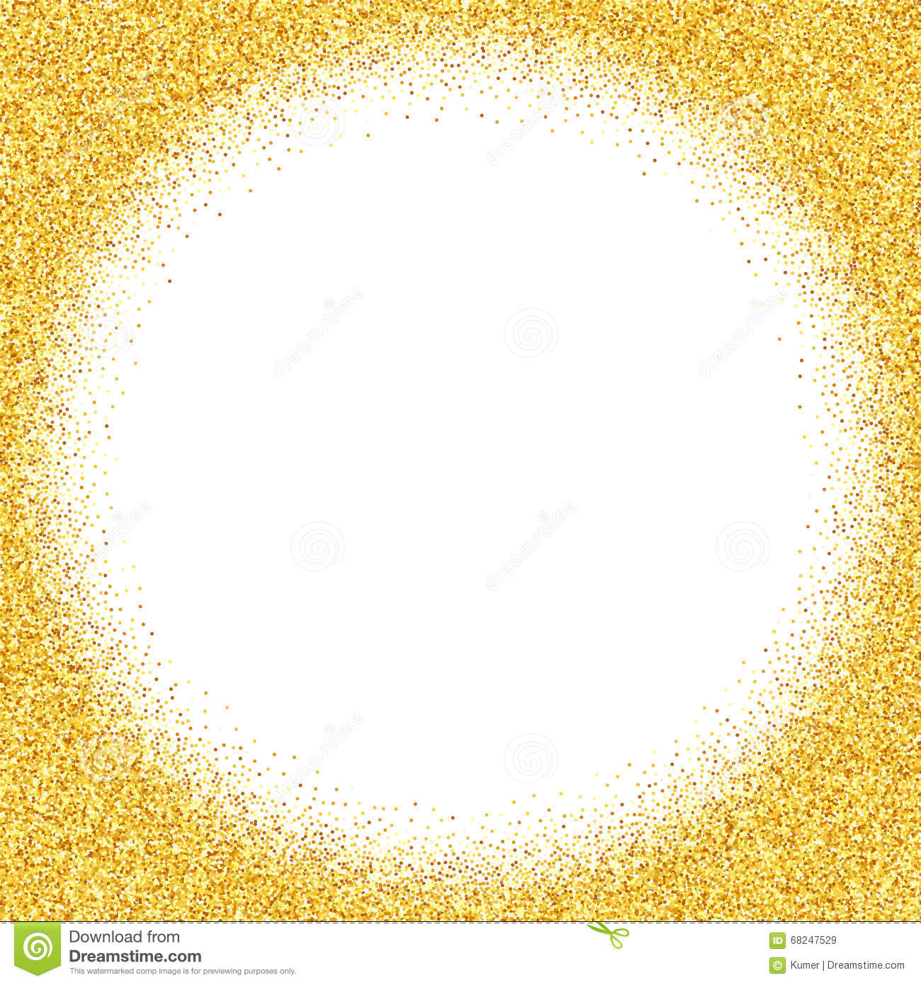 Abstract Vector Gold Dust Glitter Background Illustration 68247529 ...
