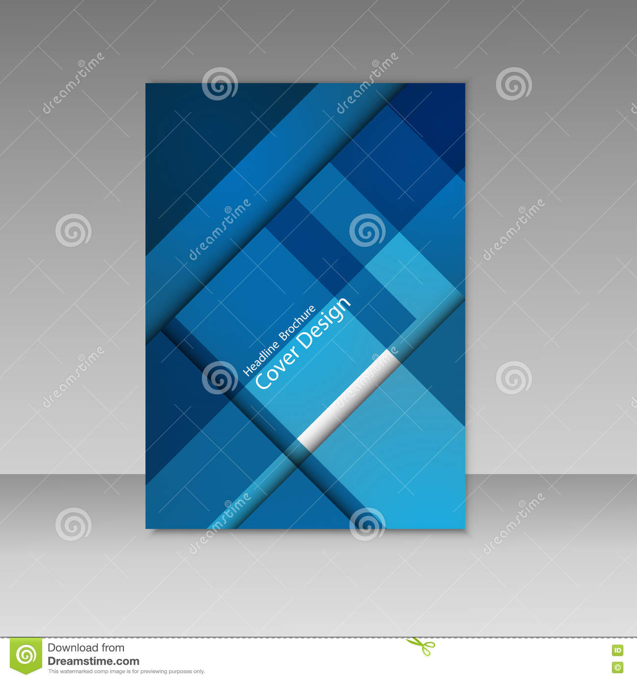 Abstract Vector Graphics, Beautiful Brochures Templates  Set