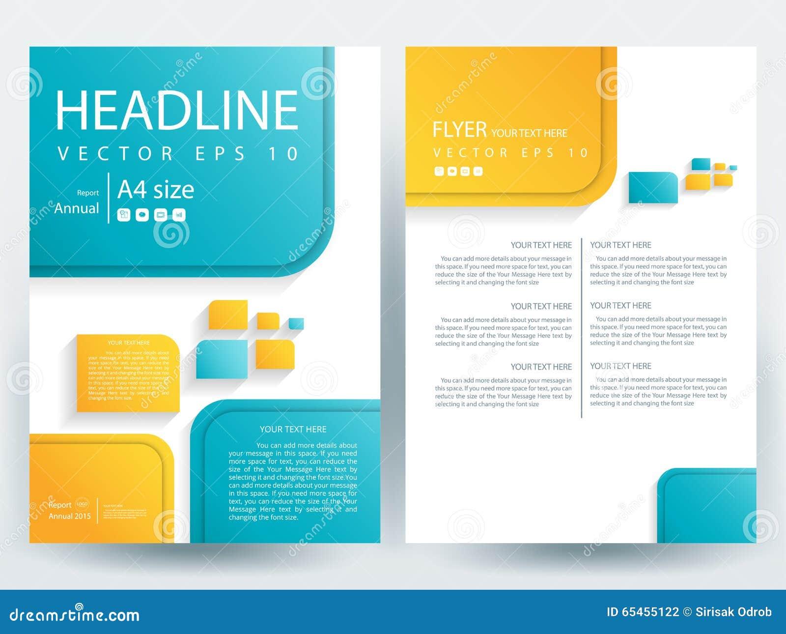 Abstract Vector Modern Flyers Brochure Design Templates Stock - Modern brochure design templates