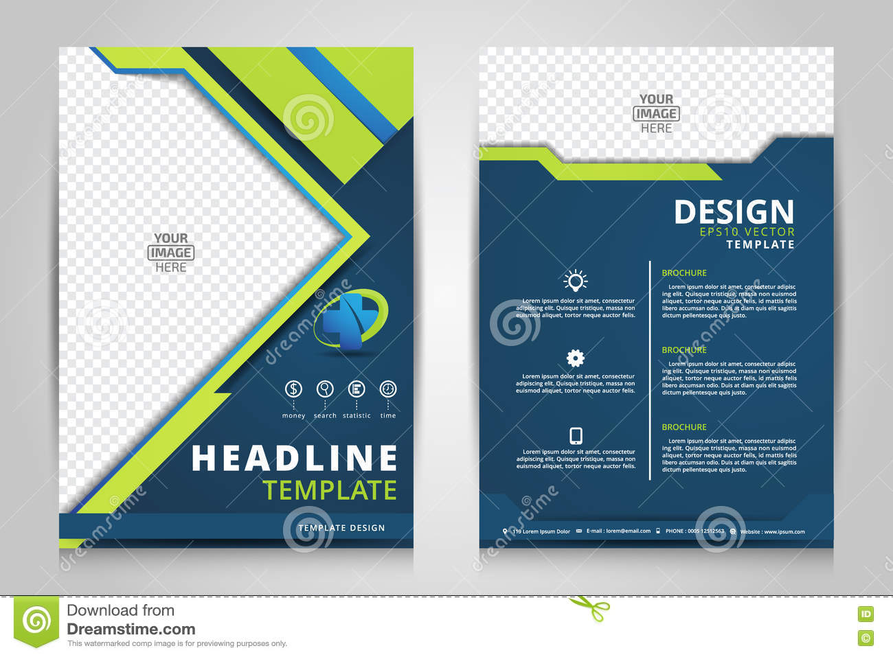 Modern Flyer Template from thumbs.dreamstime.com
