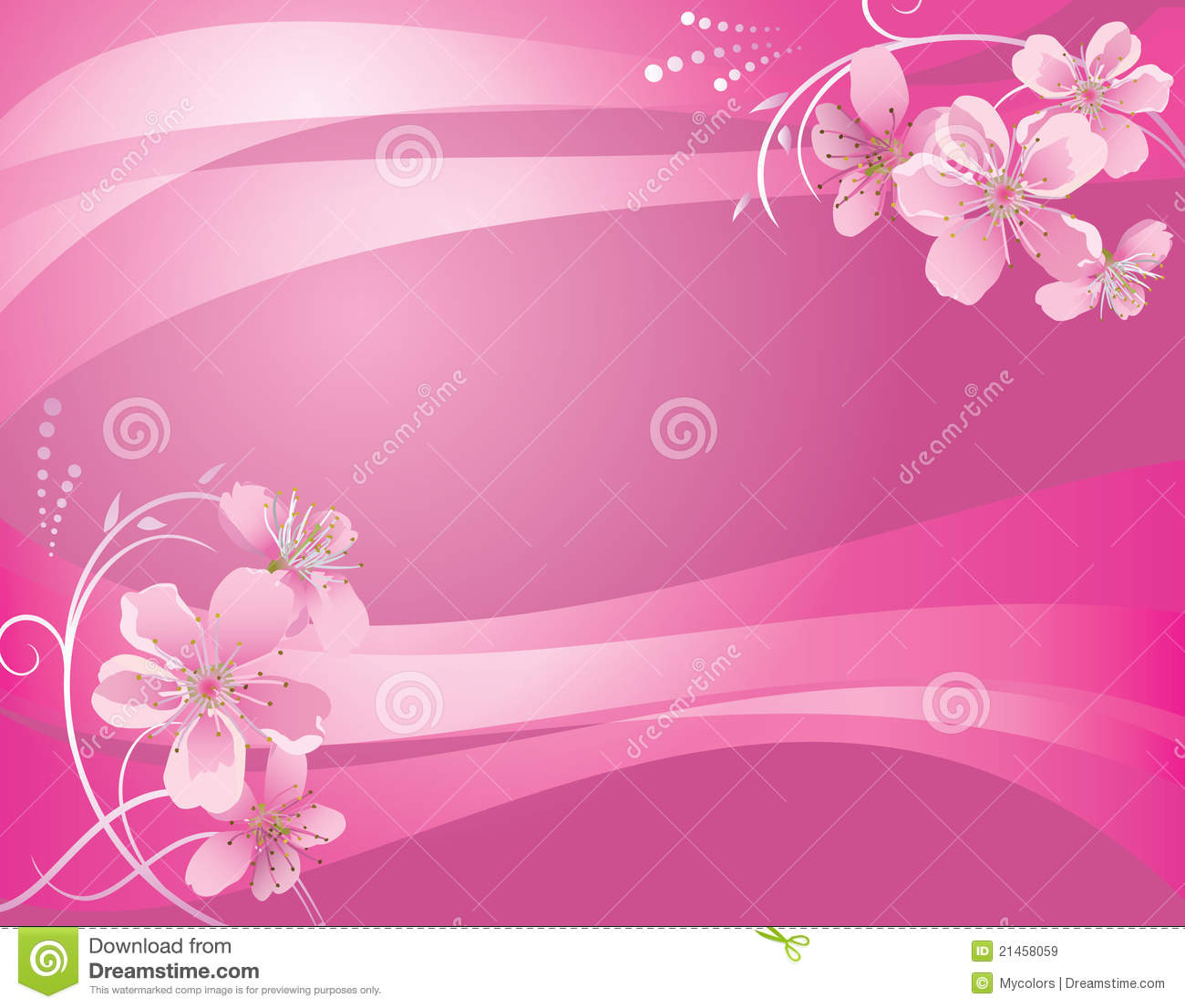 Abstract vector pink background with flower stock vector abstract vector pink background with flower mightylinksfo