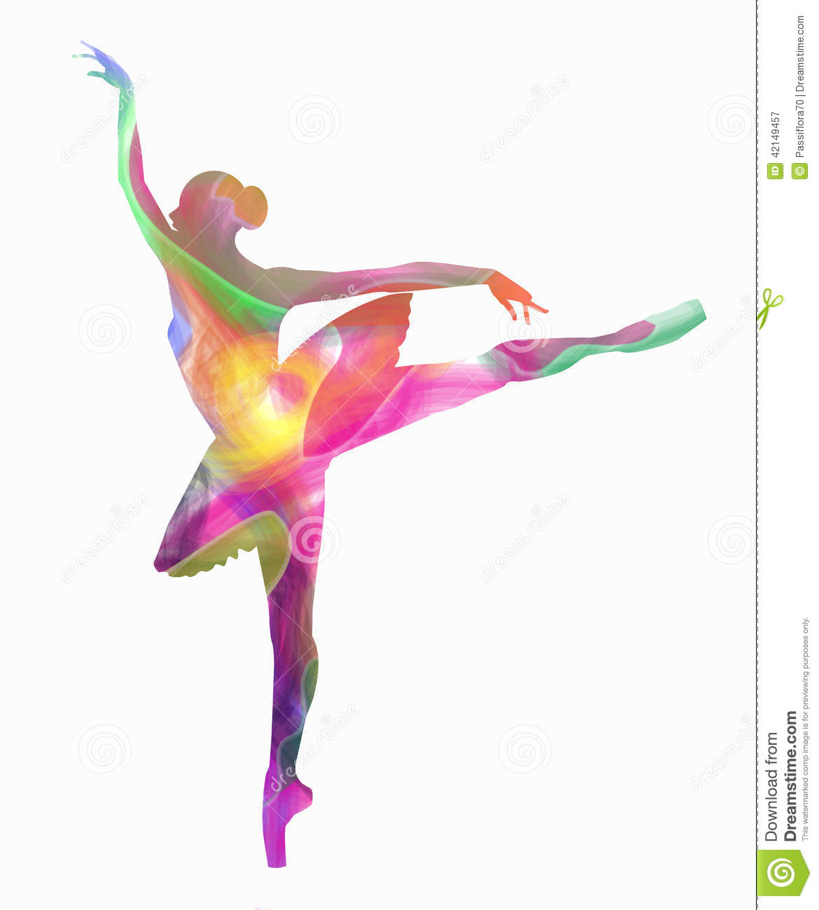 83a5cea4f Vector silhouette dancing girl on white background. Designers Also Selected  These Stock Illustrations