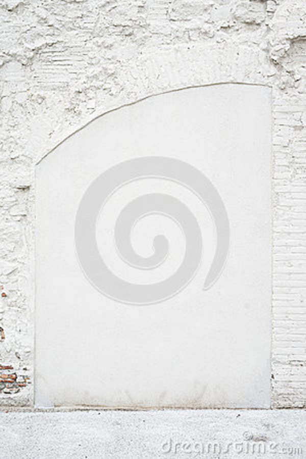 Blank White Painted Brick Wall Background Stock Image