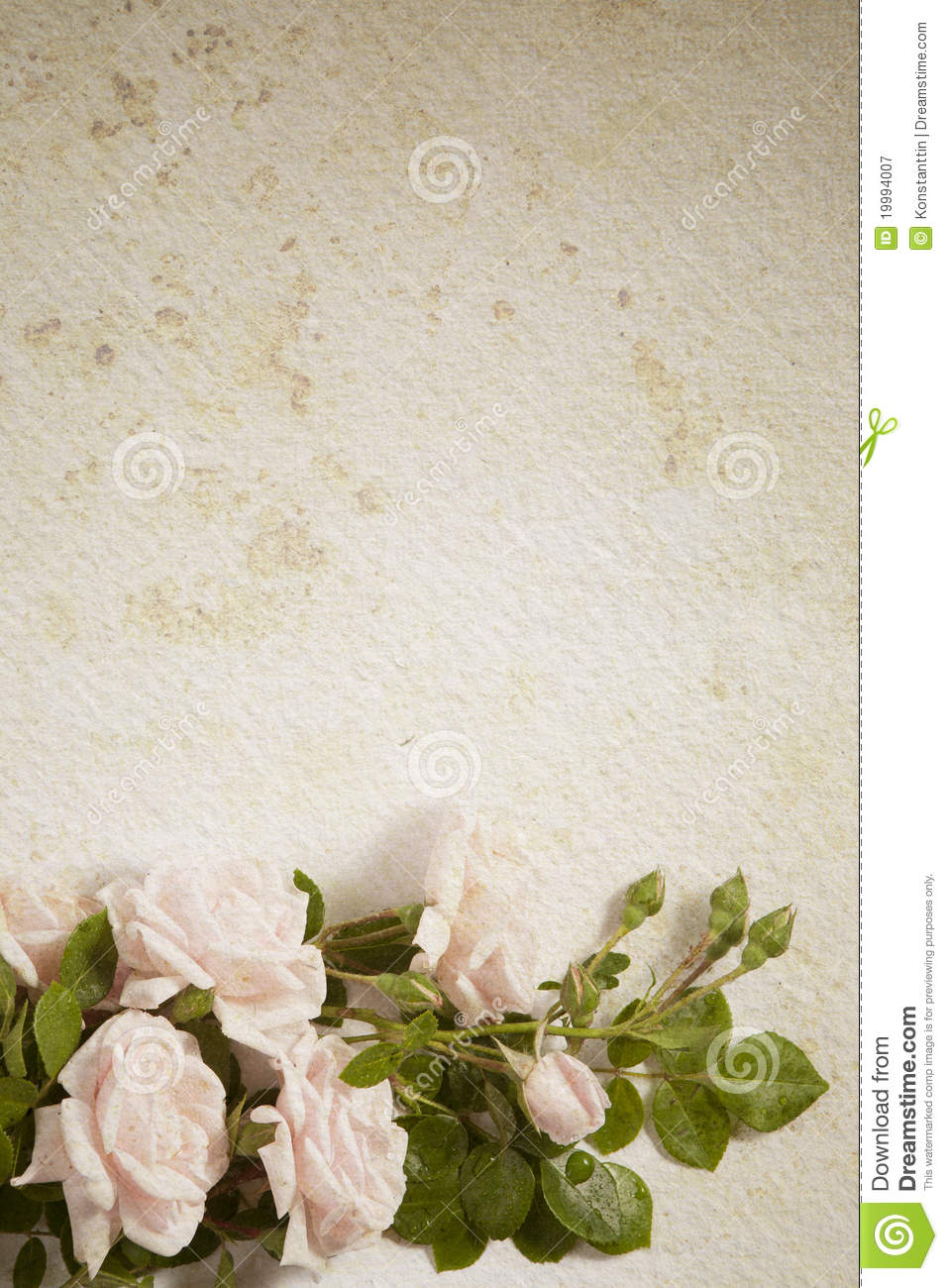Abstract Vintage Flower Paper Background Stock Image Image Of