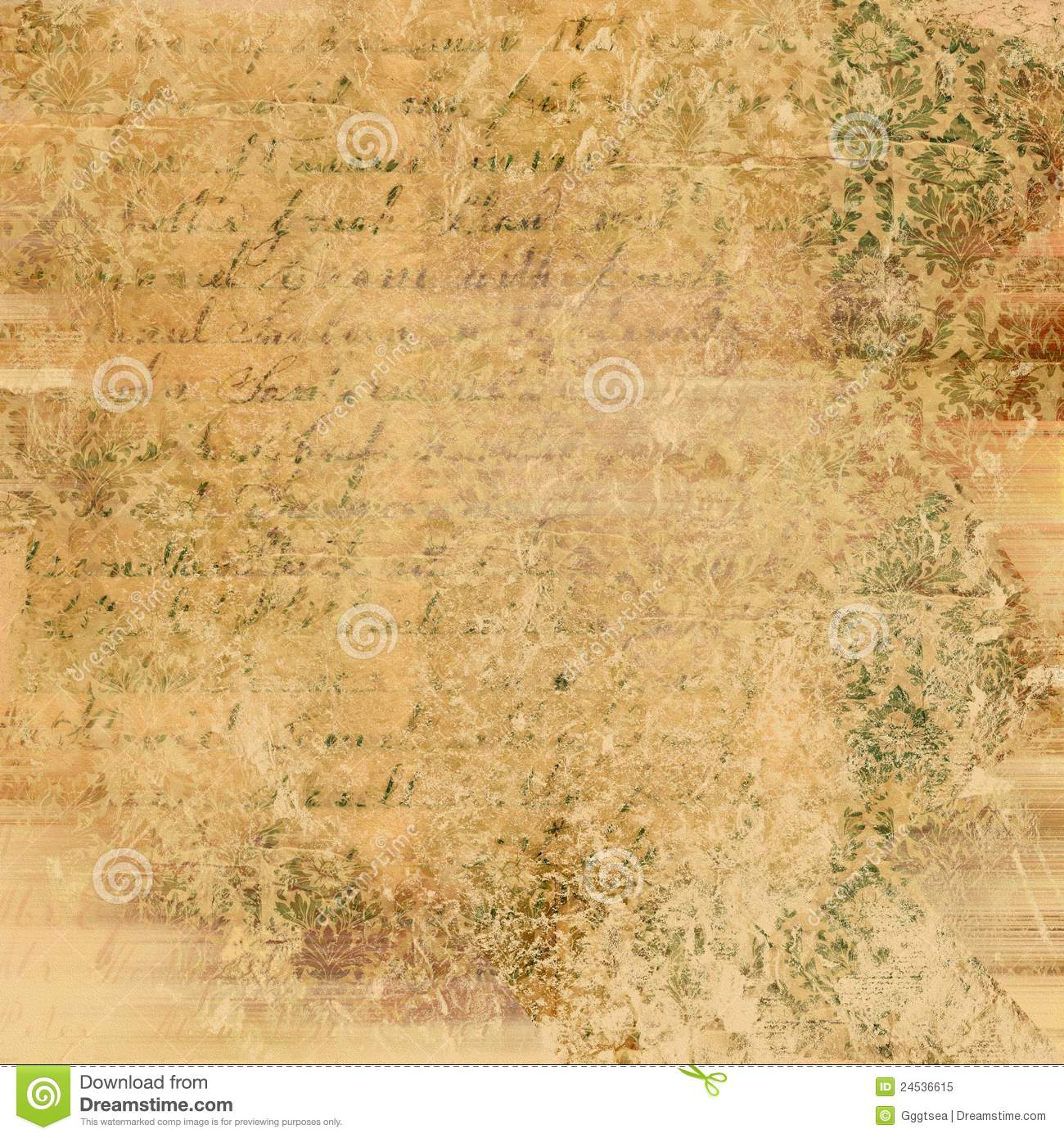 Abstract Vintage Paper Texture Royalty Free Stock Photo - Image ...