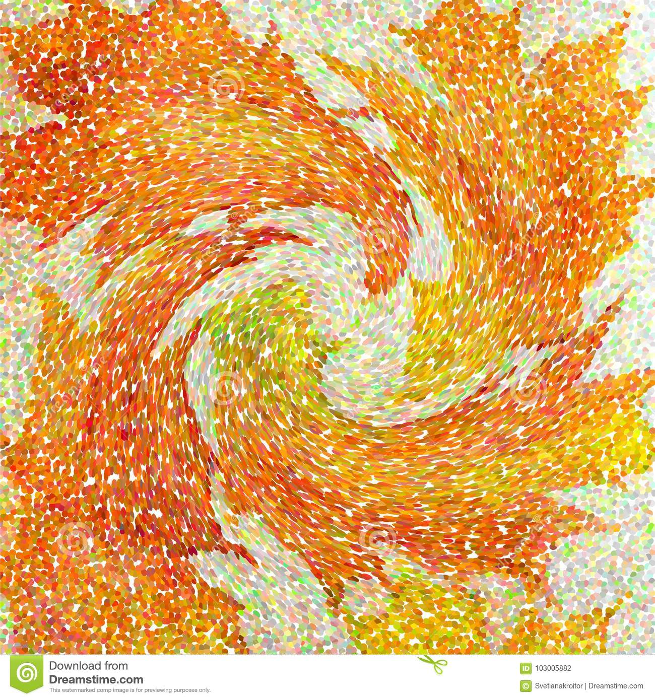 An Abstract Wallpaper Pattern Designed In Warm Autumn