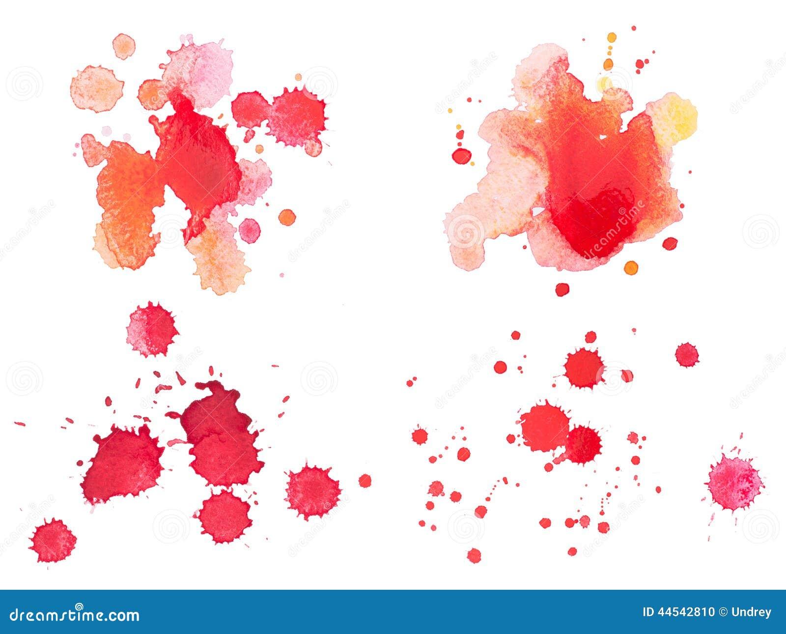 abstract watercolor aquarelle hand drawn red blood stock blood splatter vector download blood splatter vector images
