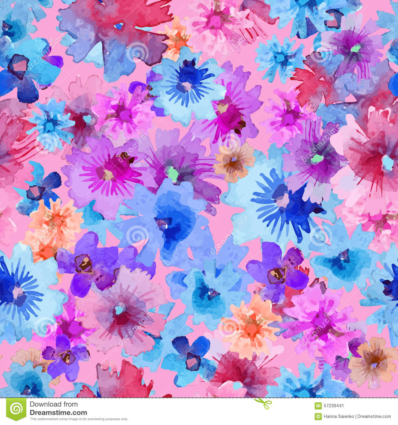 Share your Free abstract floral pattern