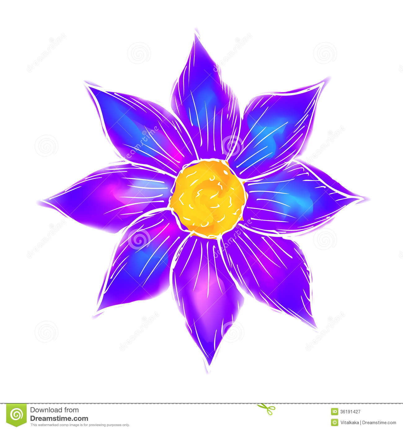 Elegant Abstract Background Beautiful Flower With Nice Flowers To Draw
