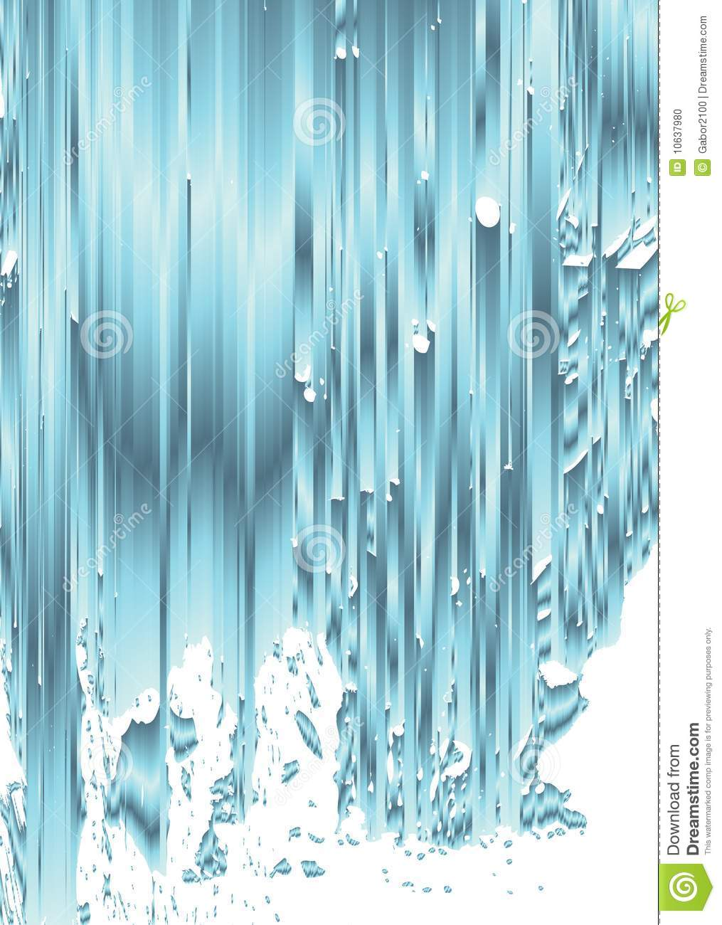 Abstract Waterfall Stock Vector Illustration Of Water