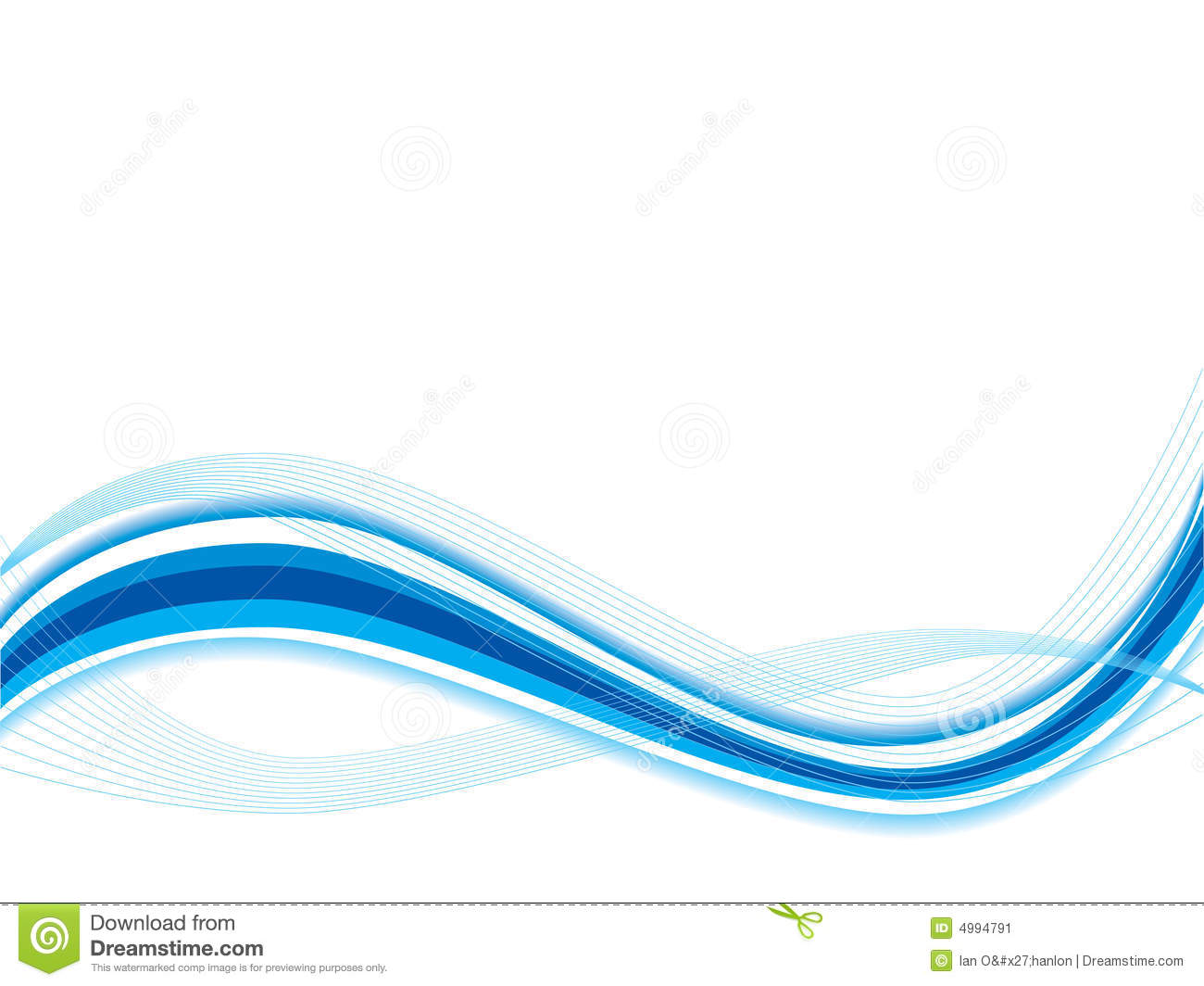 Abstract Wave Stock Image - Image: 4994791