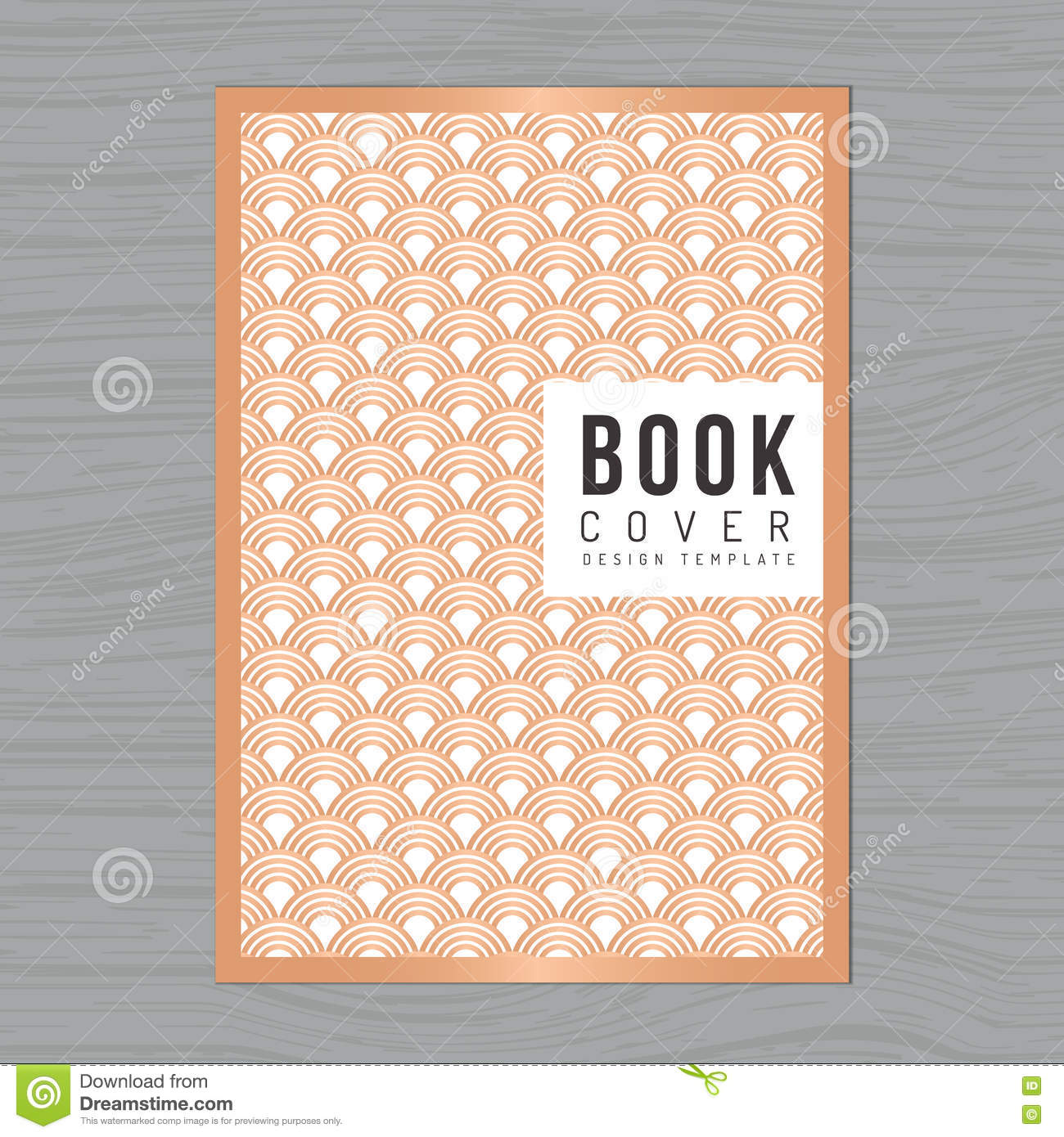 Abstract Book Cover Background ~ Style template abstract background book cover cartoon
