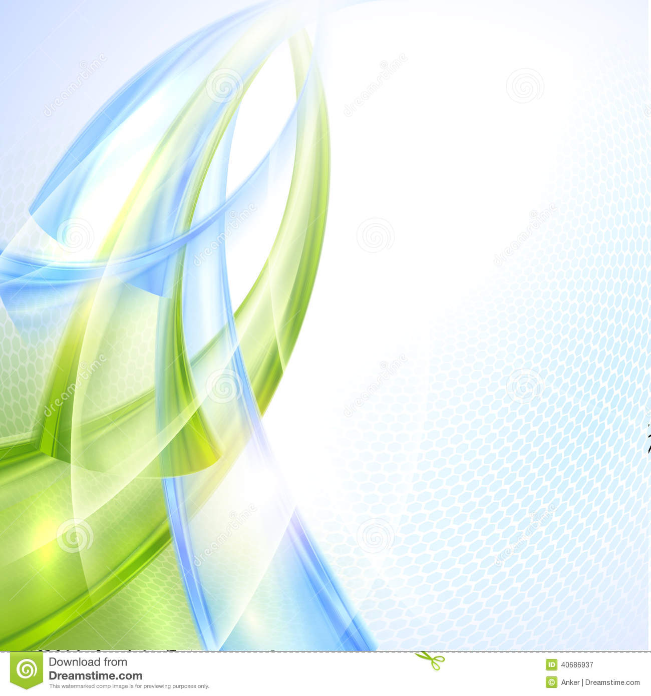 Abstract Wave Background Stock Photo