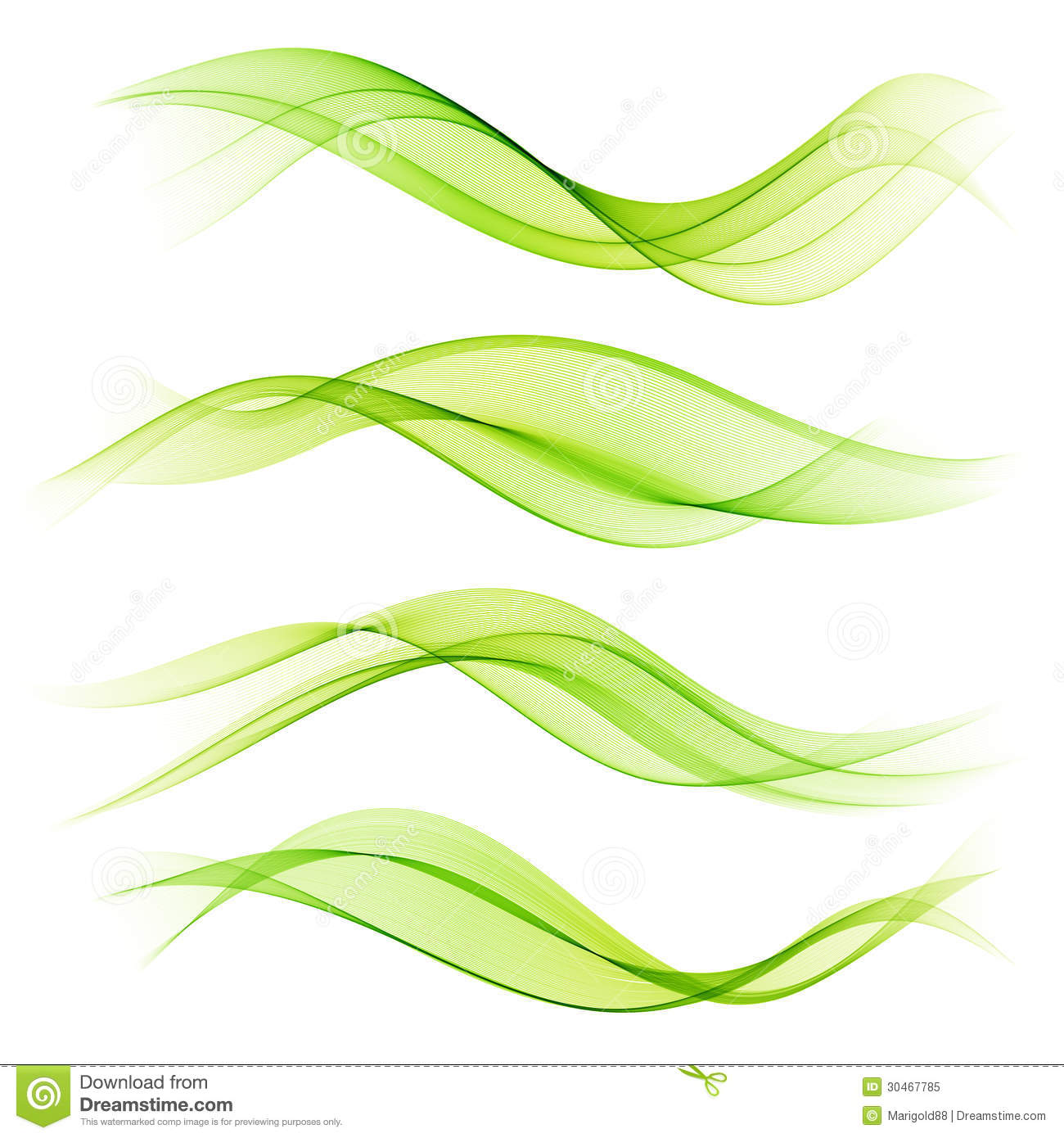 Abstract Wave Design Element Royalty Free Stock Photo - Image ...