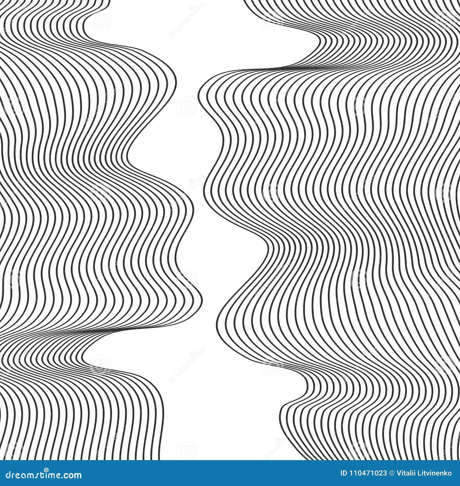 Abstract Design Line Art