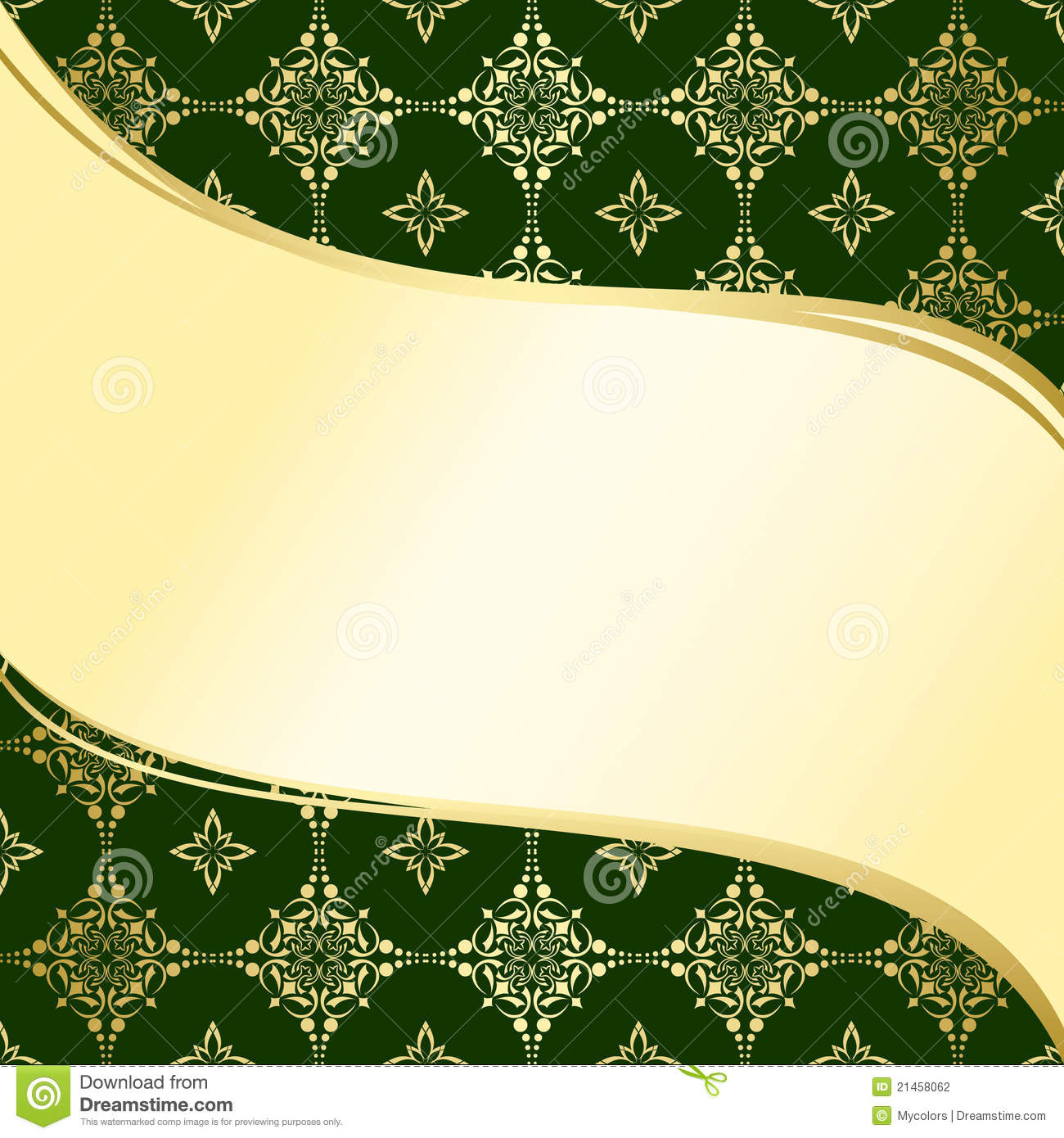 Green And Gold Backgrounds