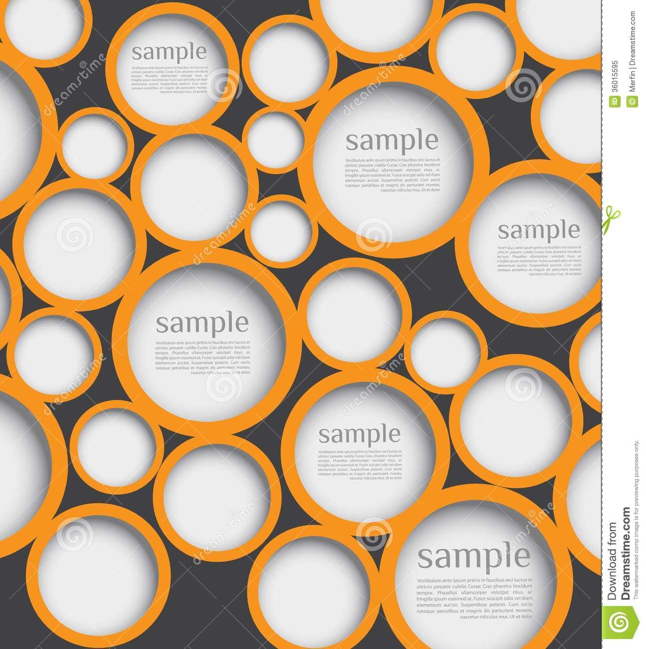 Abstract web design bubble stock illustration. Image of ...