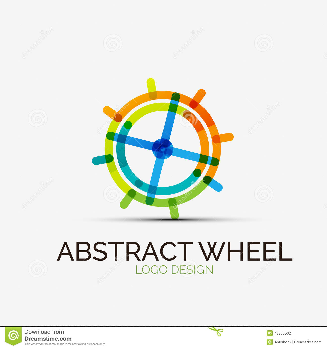 abstract wheel company logo  business concept stock vector spinning in circles toddler spinning in circles is a gateway drug