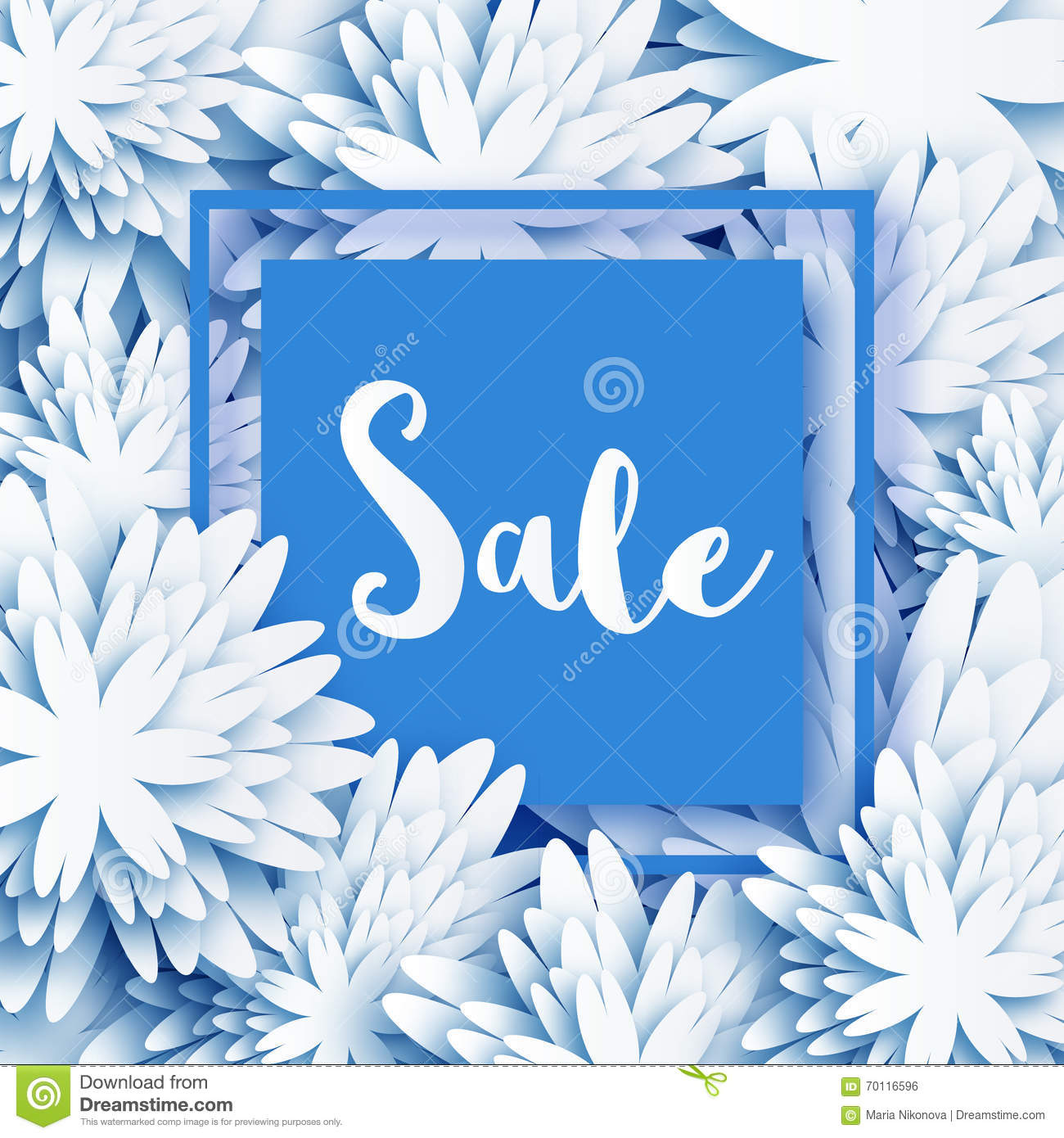 Abstract white blue spring summer sale banner for business stock abstract white blue spring summer sale banner for business kristyandbryce Image collections