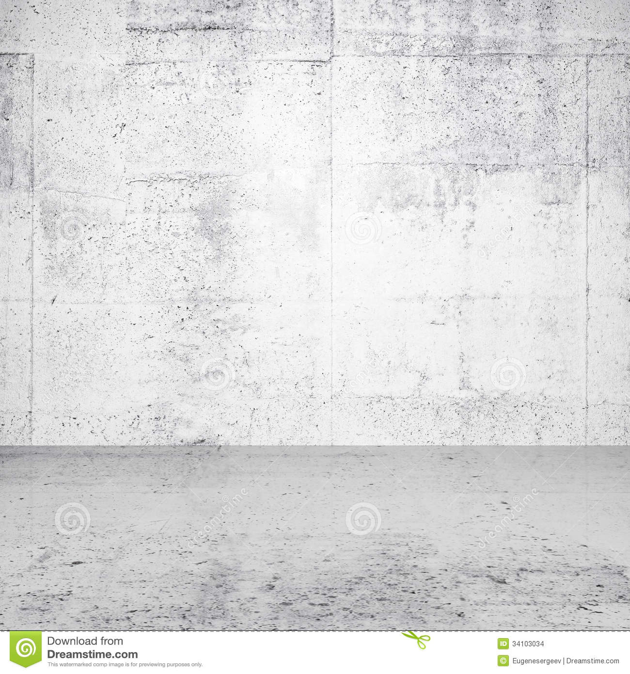 White Concrete Wall : Abstract white empty interior stock images image