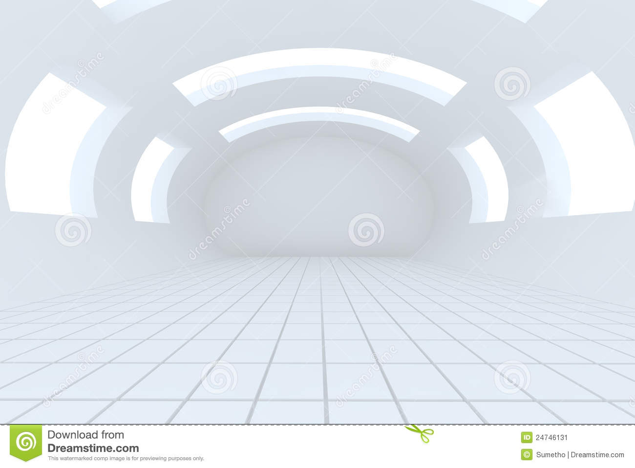Abstract White Empty Room Stock Image Image 24746131