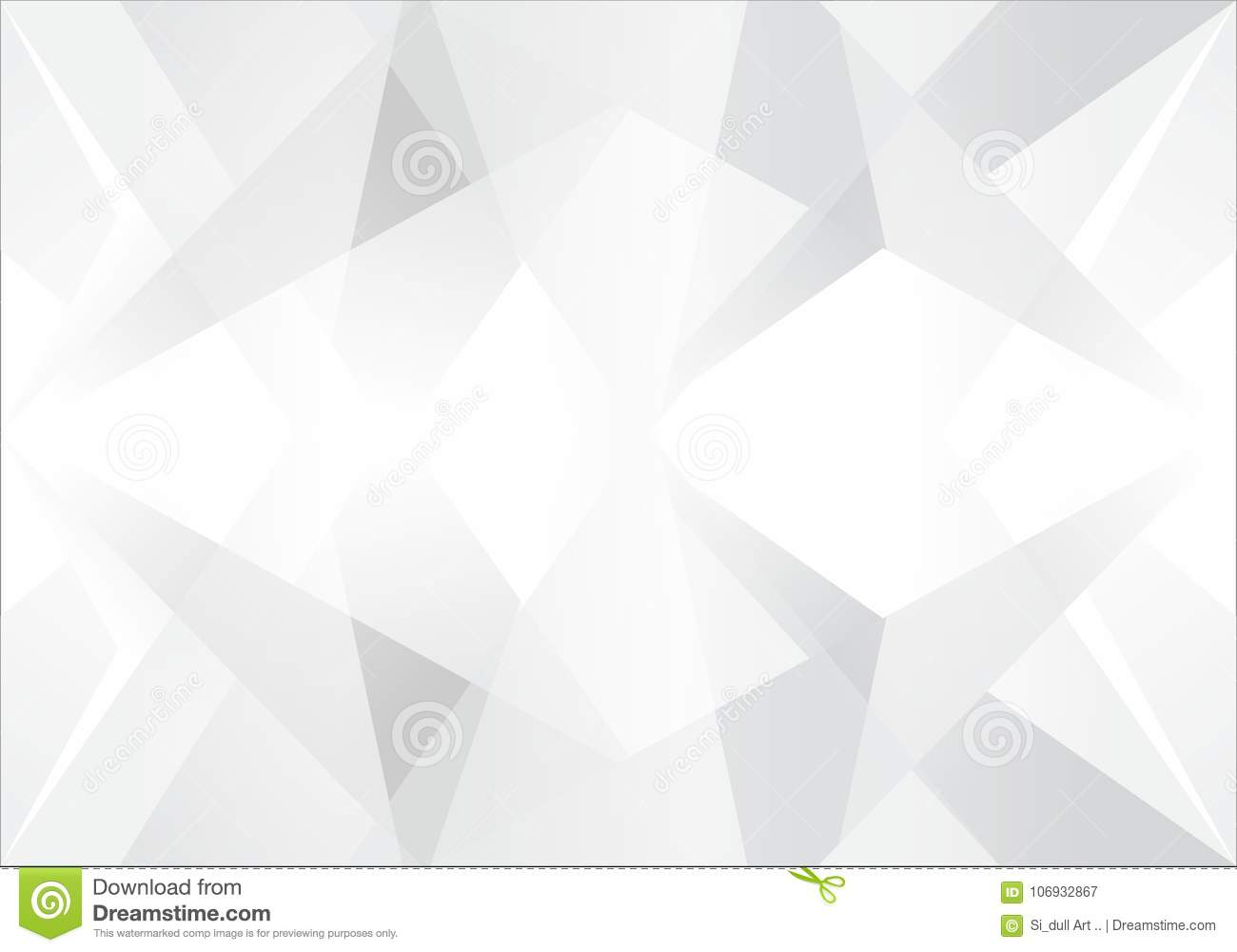 Abstract White and gray color technology modern futuristic background