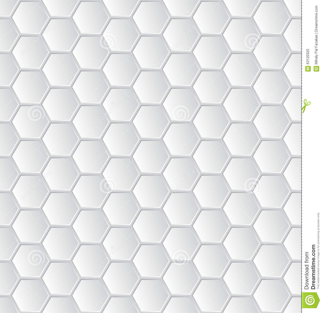 Black Quilted Wallpaper Abstract White Hexagon...