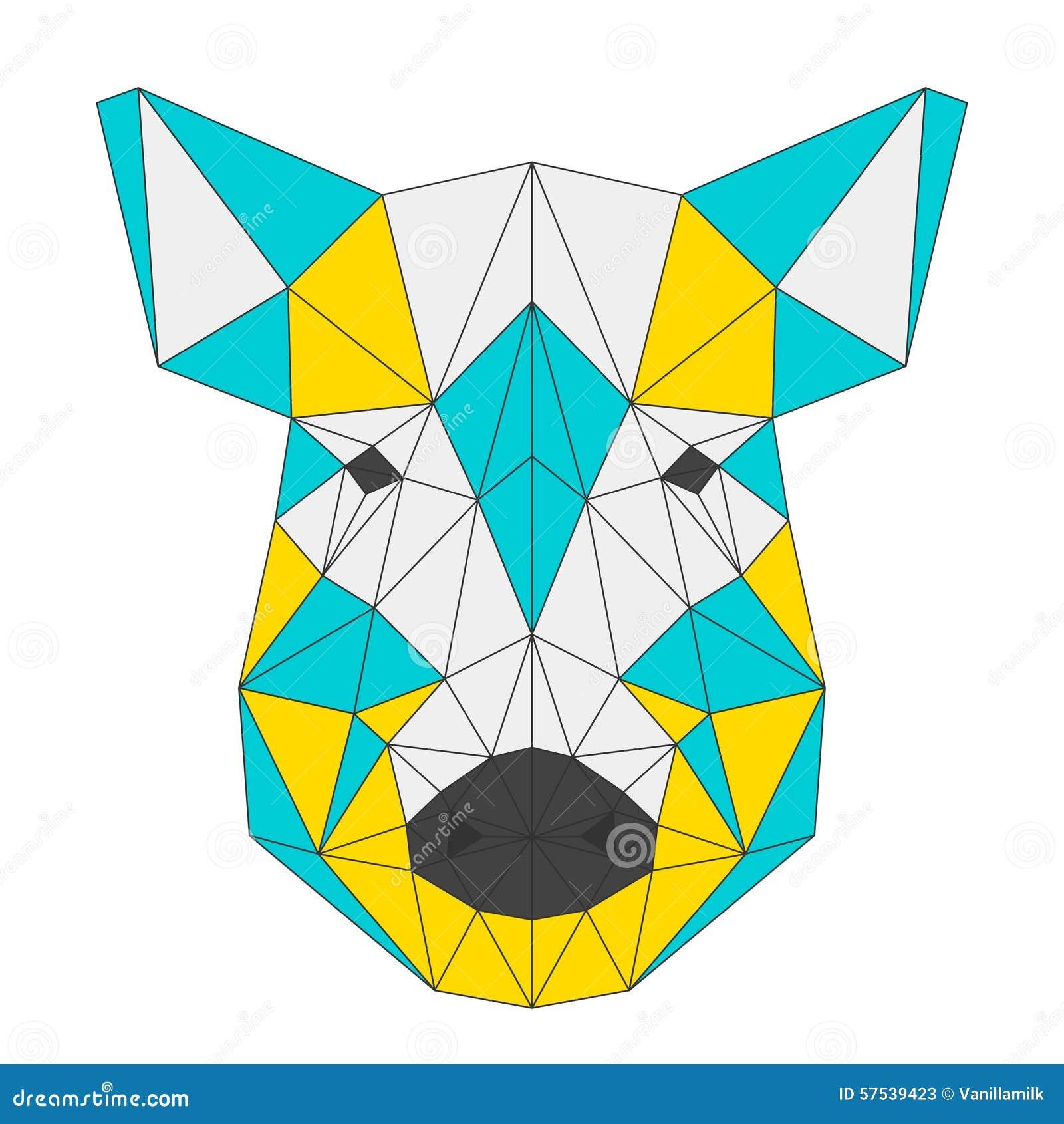 geometric yellow background illustration - photo #6