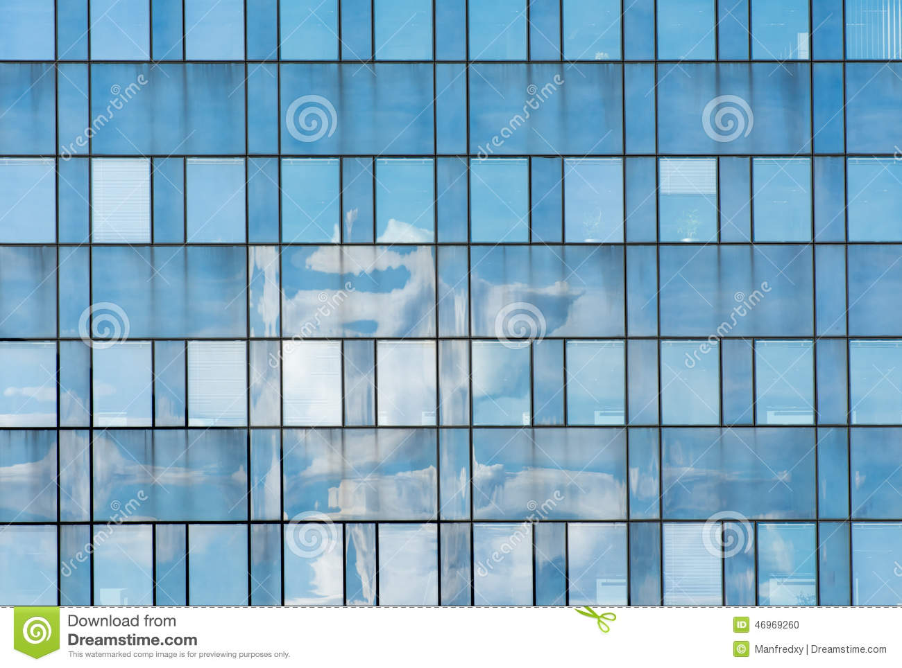 Window facade  Abstract Window Facade stock photo. Image of window, reflection ...
