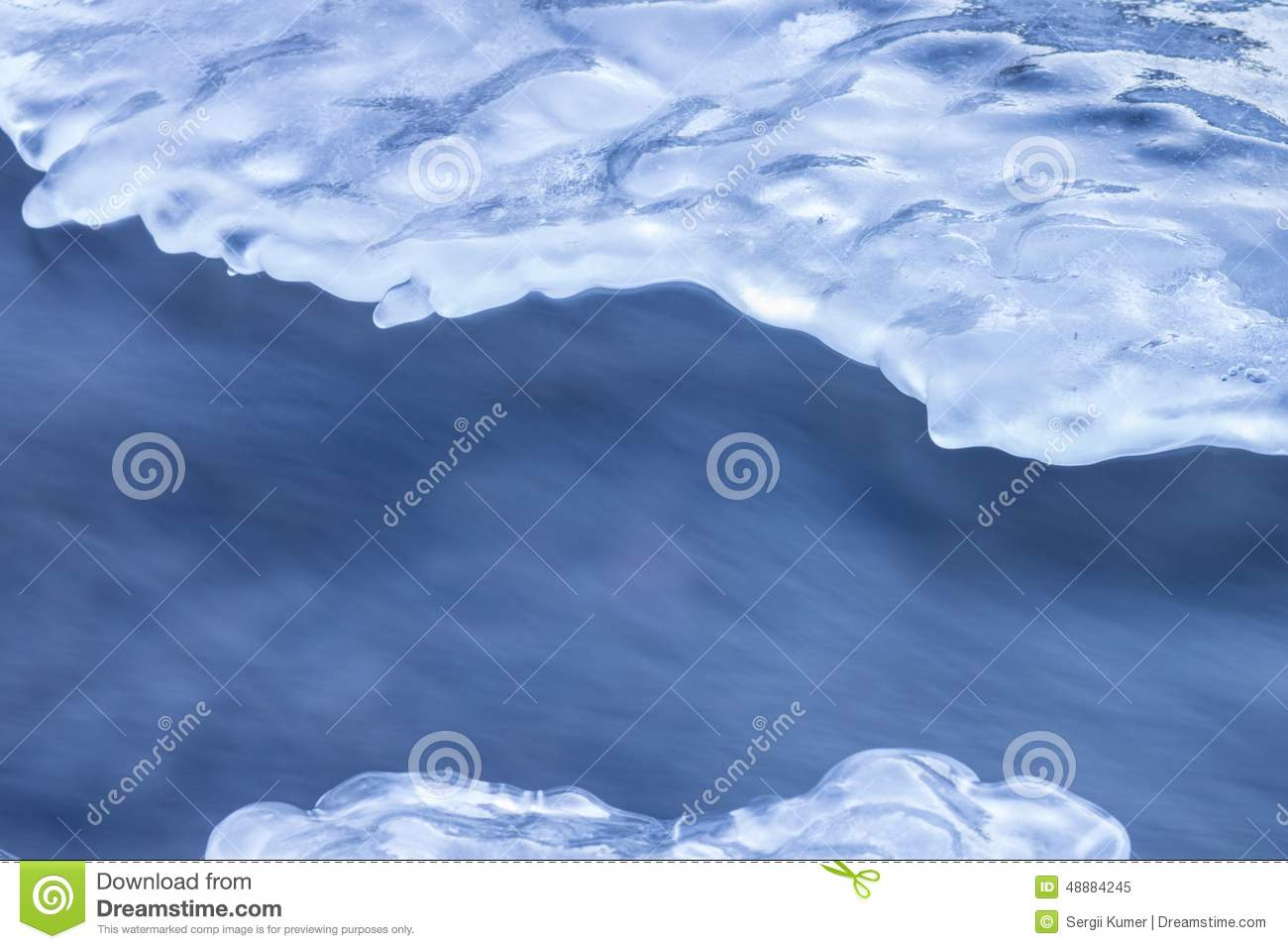 Abstract winter background.