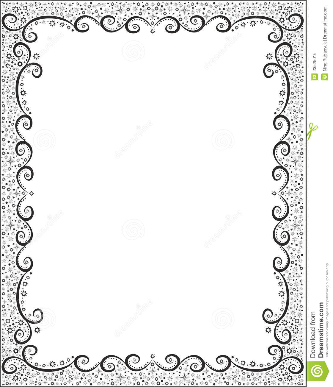 Abstract Winter Holiday Frame Stock Illustration - Illustration of ...