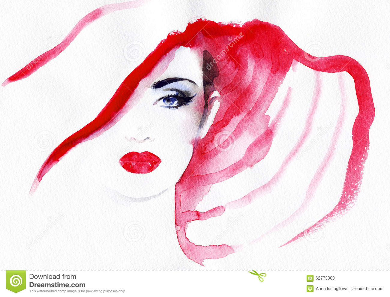 abstract woman face fashion background illustration 62773308 megapixl