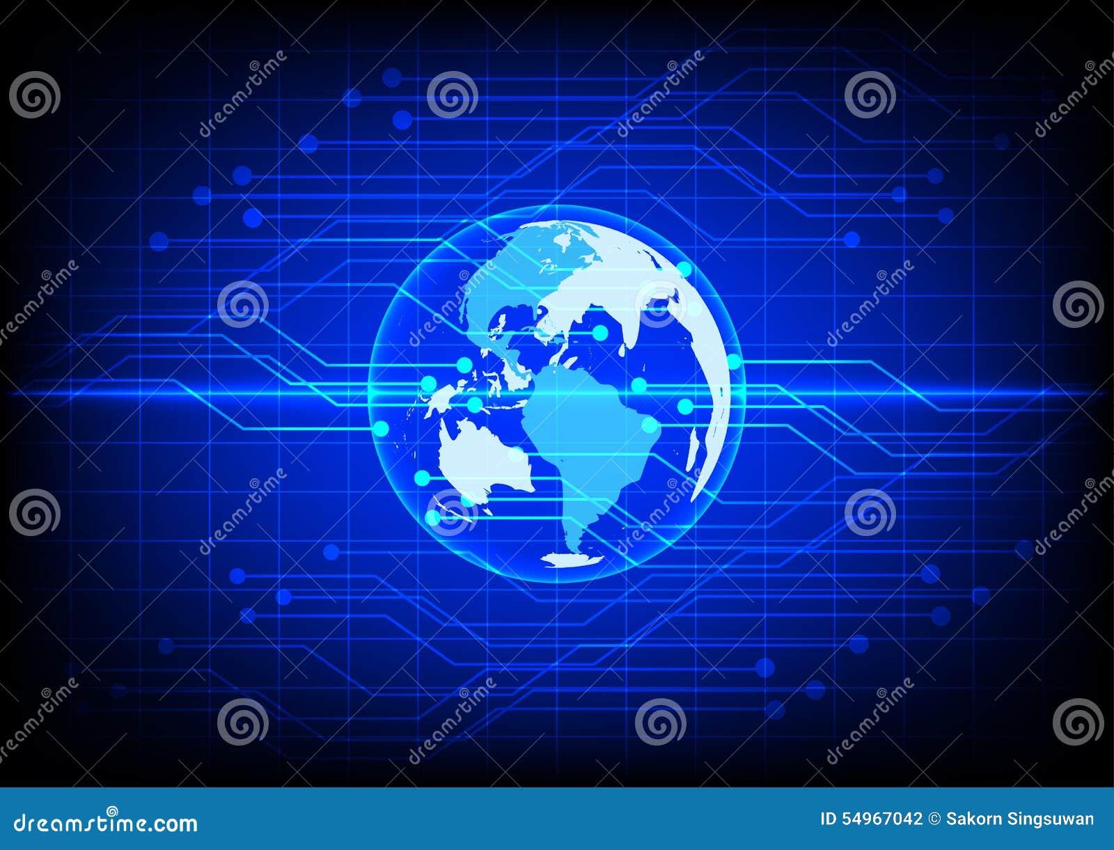 electronic world background -#main