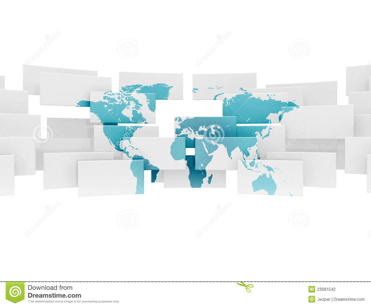 Abstract world map illustration stock illustration illustration abstract world map illustration gumiabroncs Gallery