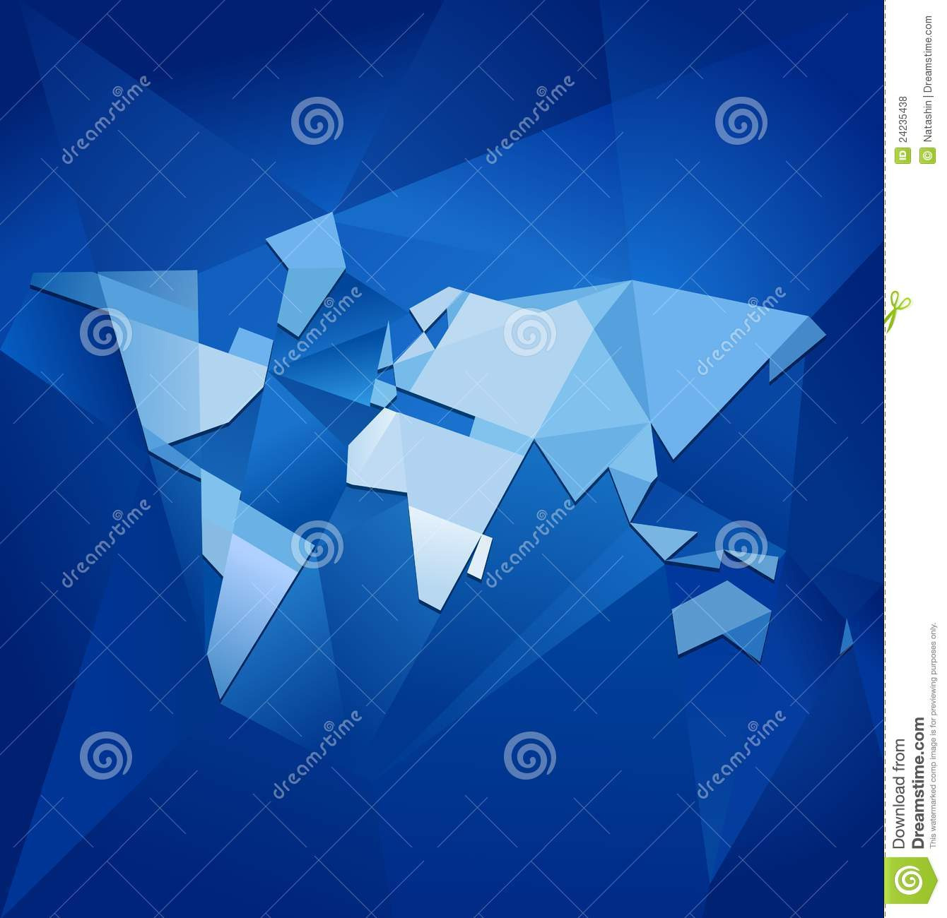 Abstract world map vector stock vector illustration of land 24235438 download comp gumiabroncs Gallery