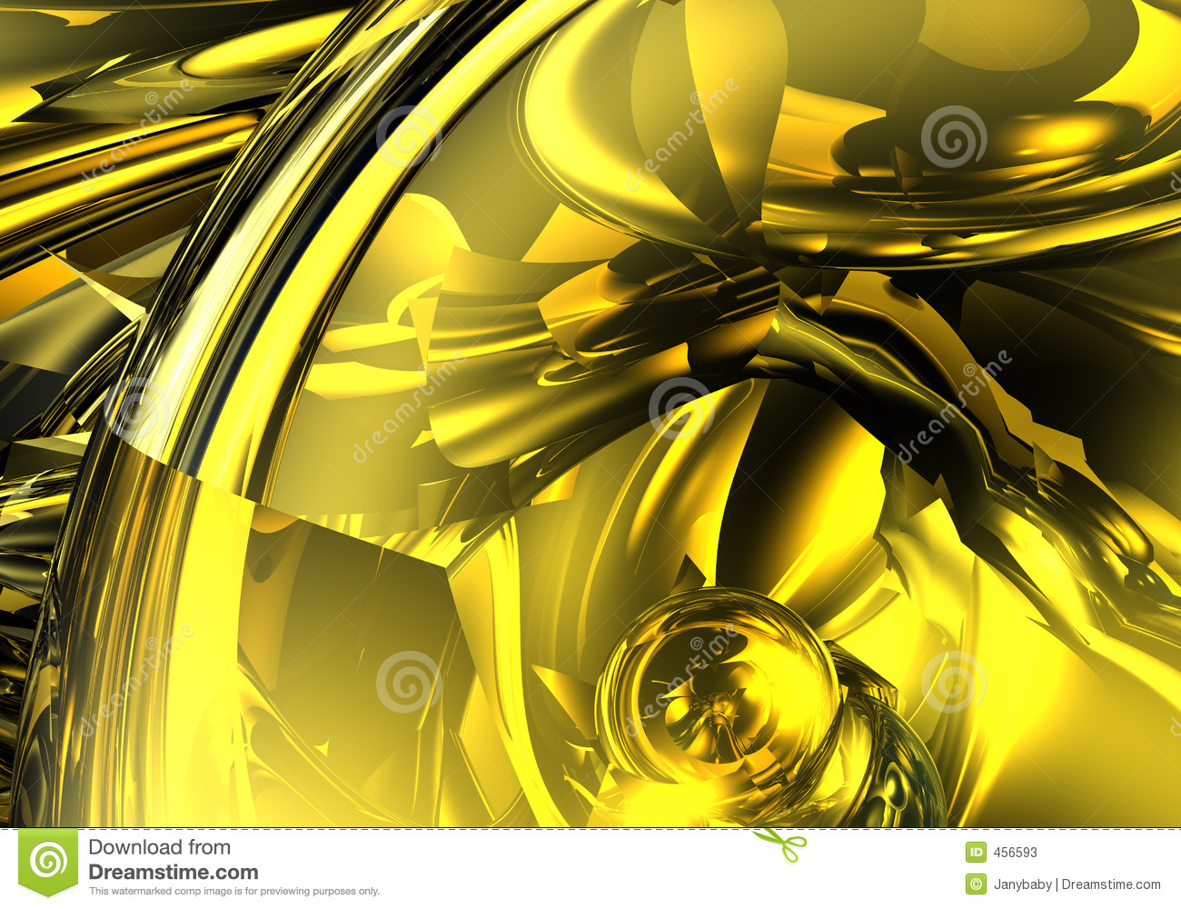 Download Abstract yellow stock illustration. Illustration of background - 456593