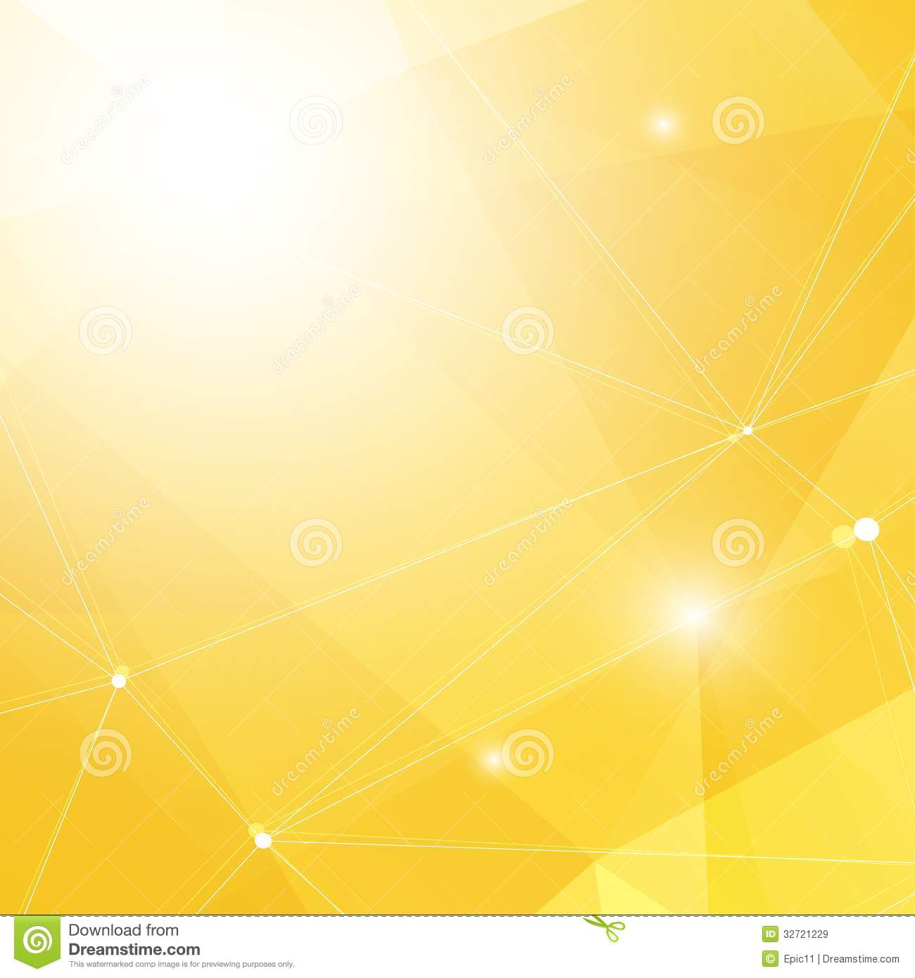 Abstract Yellow Background Royalty Free Stock Images