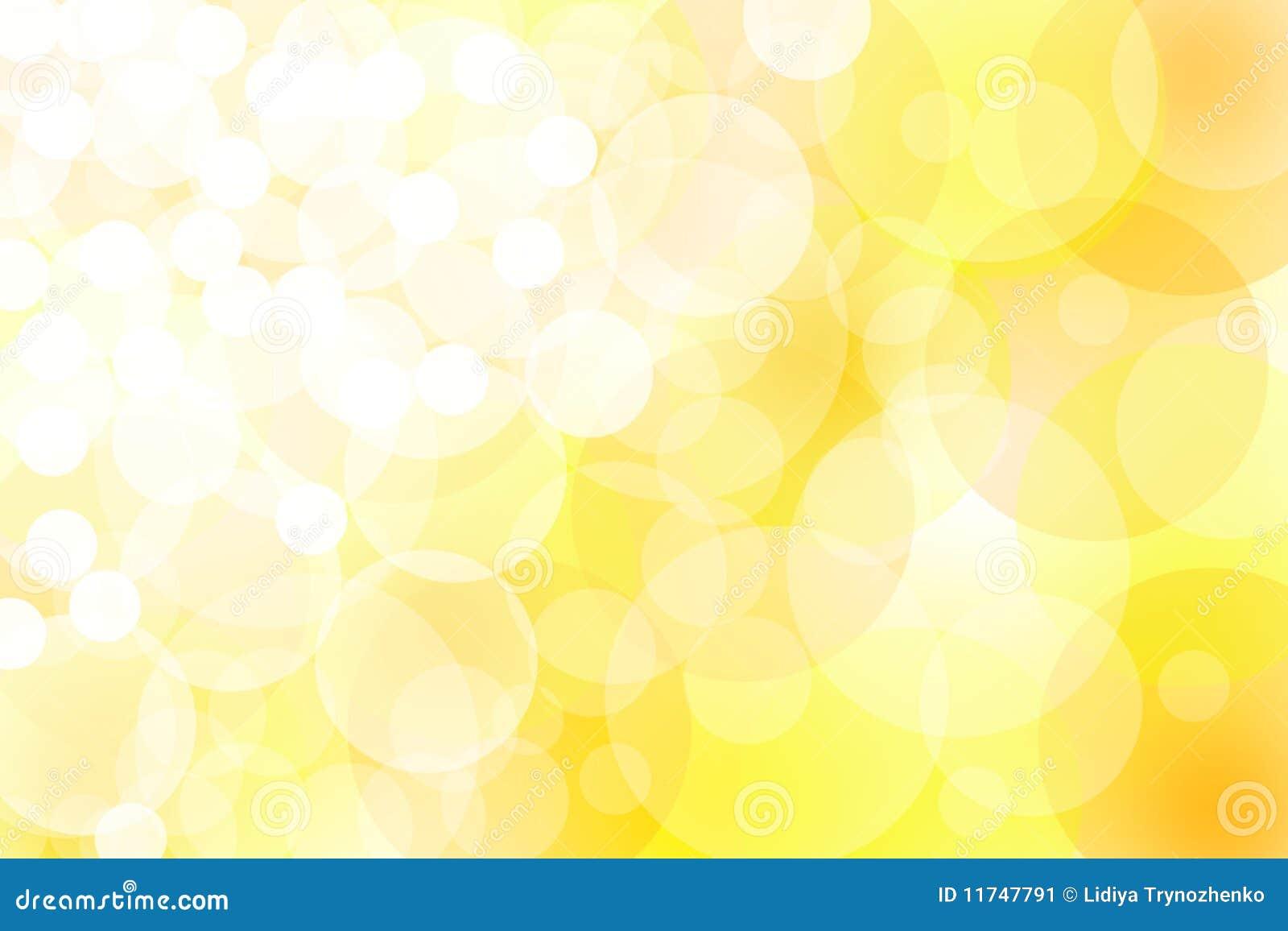 Abstract Yellow Lights Stock Image Image 11747791