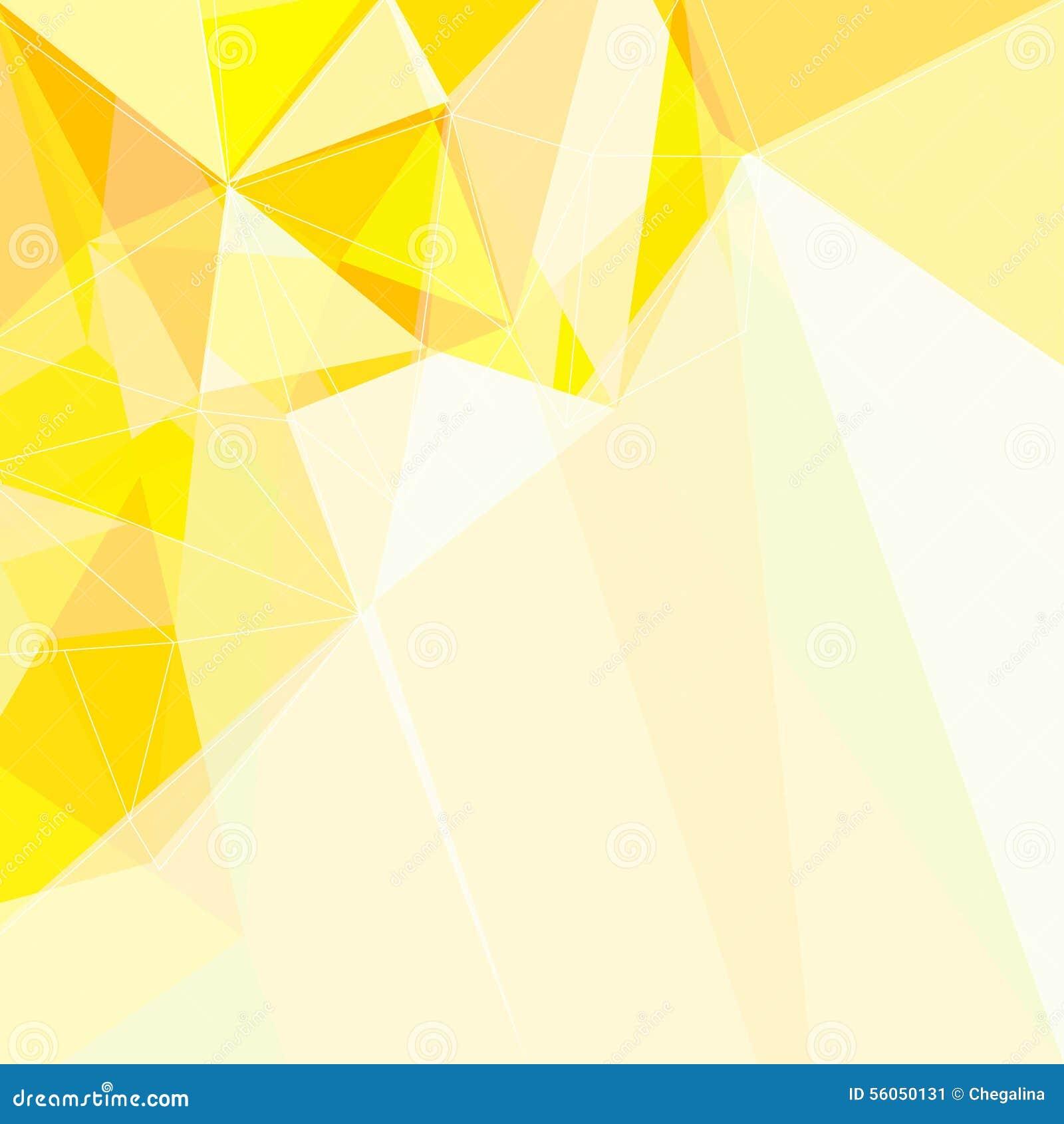 geometric yellow background illustration - photo #4