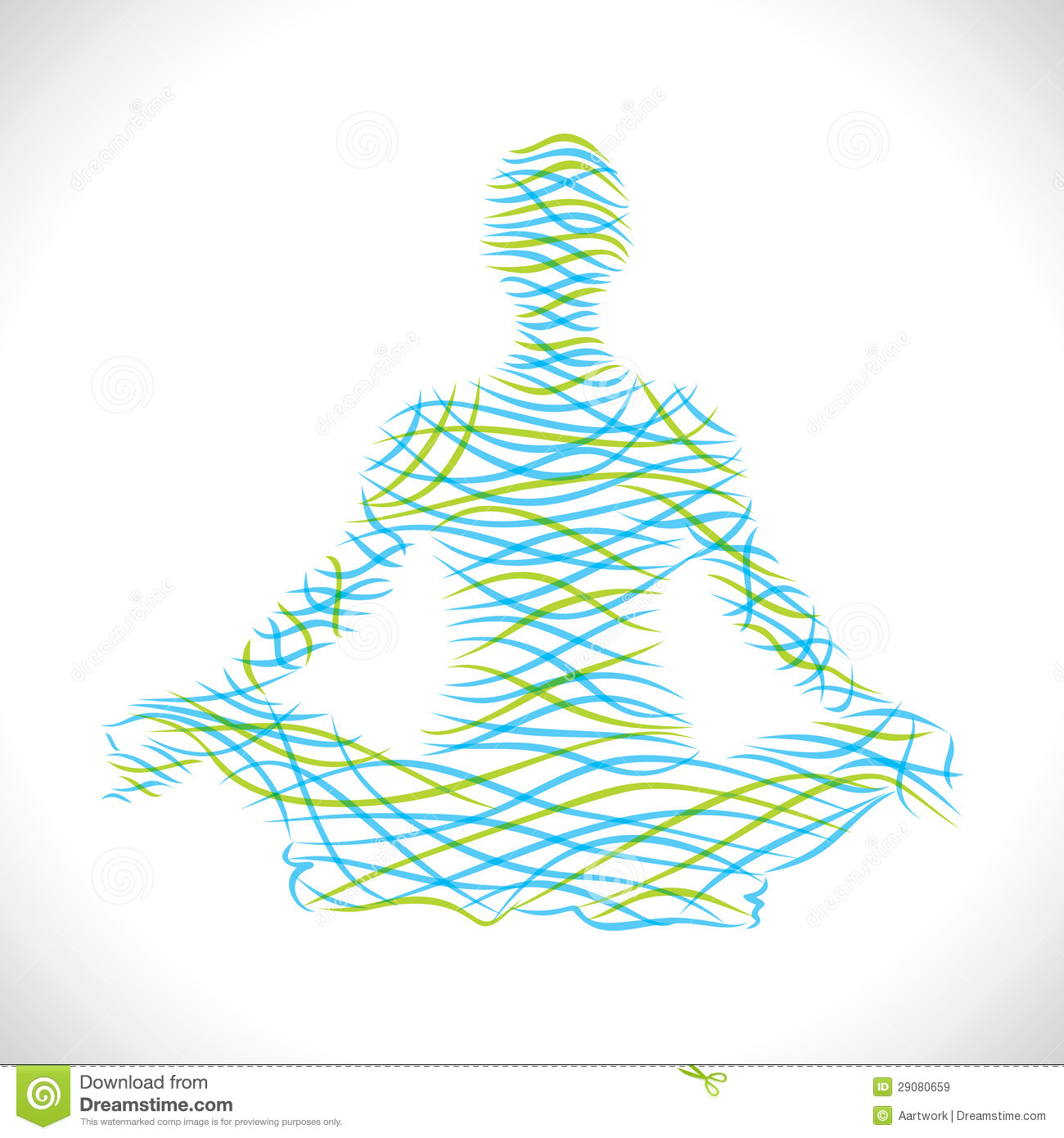 Abstract Yoga Wave Stock Royalty Free Stock Images Image