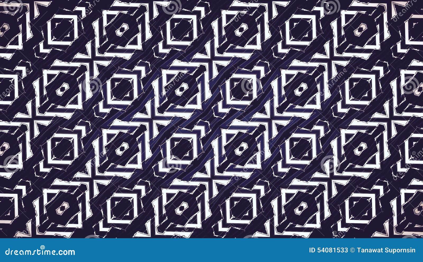 Abstract zwart-wit geometrisch patroon