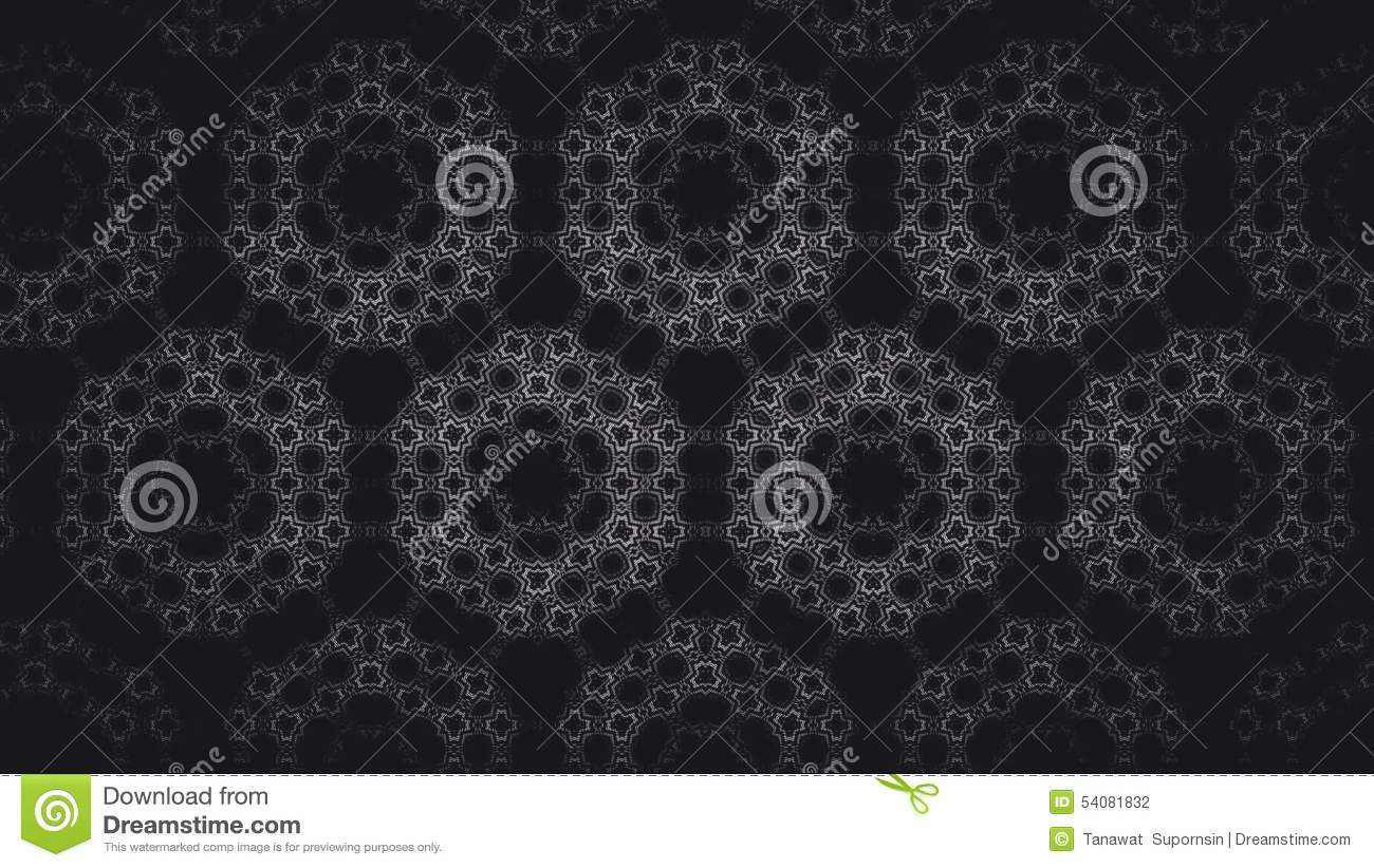 Abstract zwart-wit geometrisch patroon
