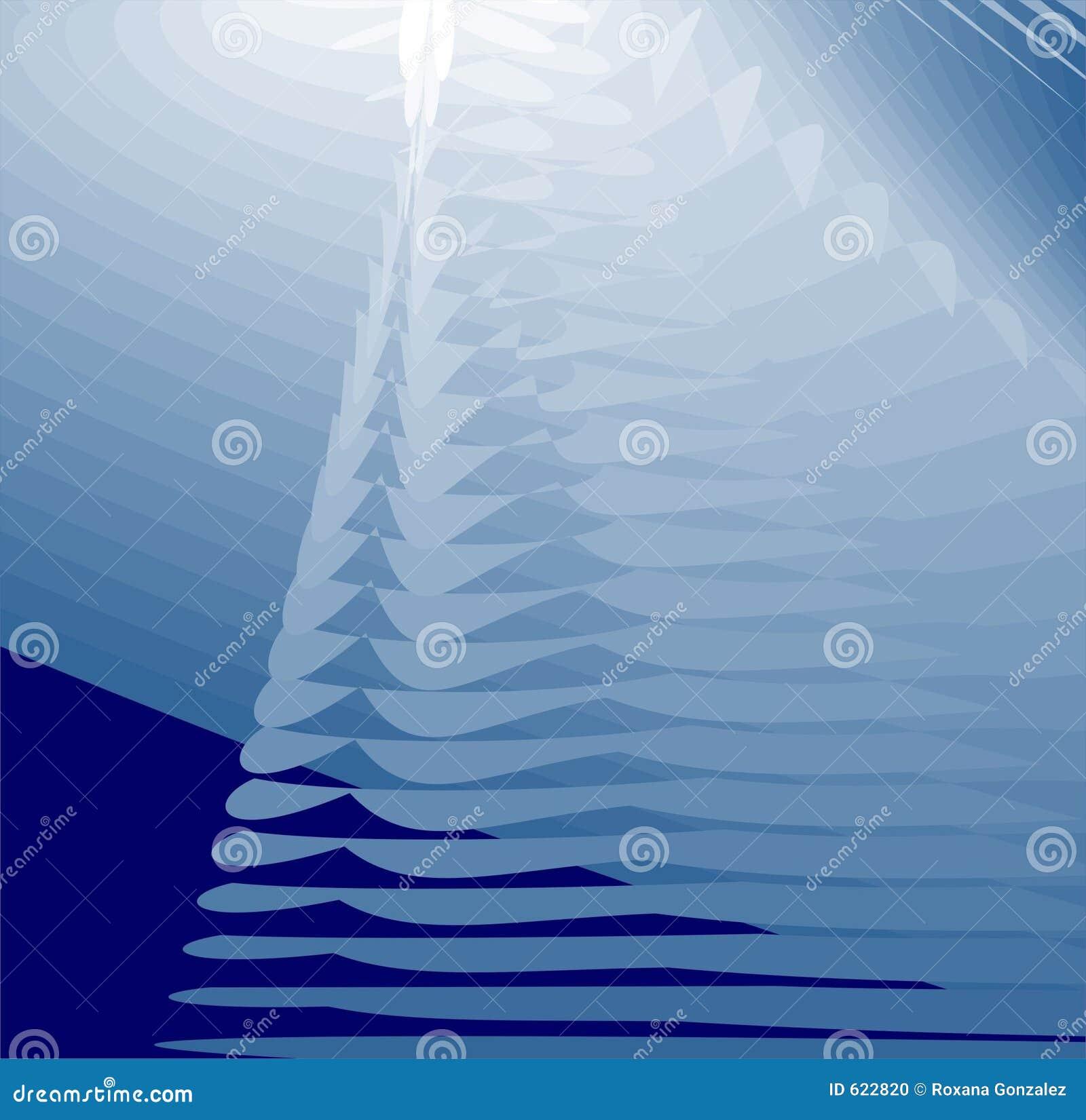 Abstracte achtergrond - blauw