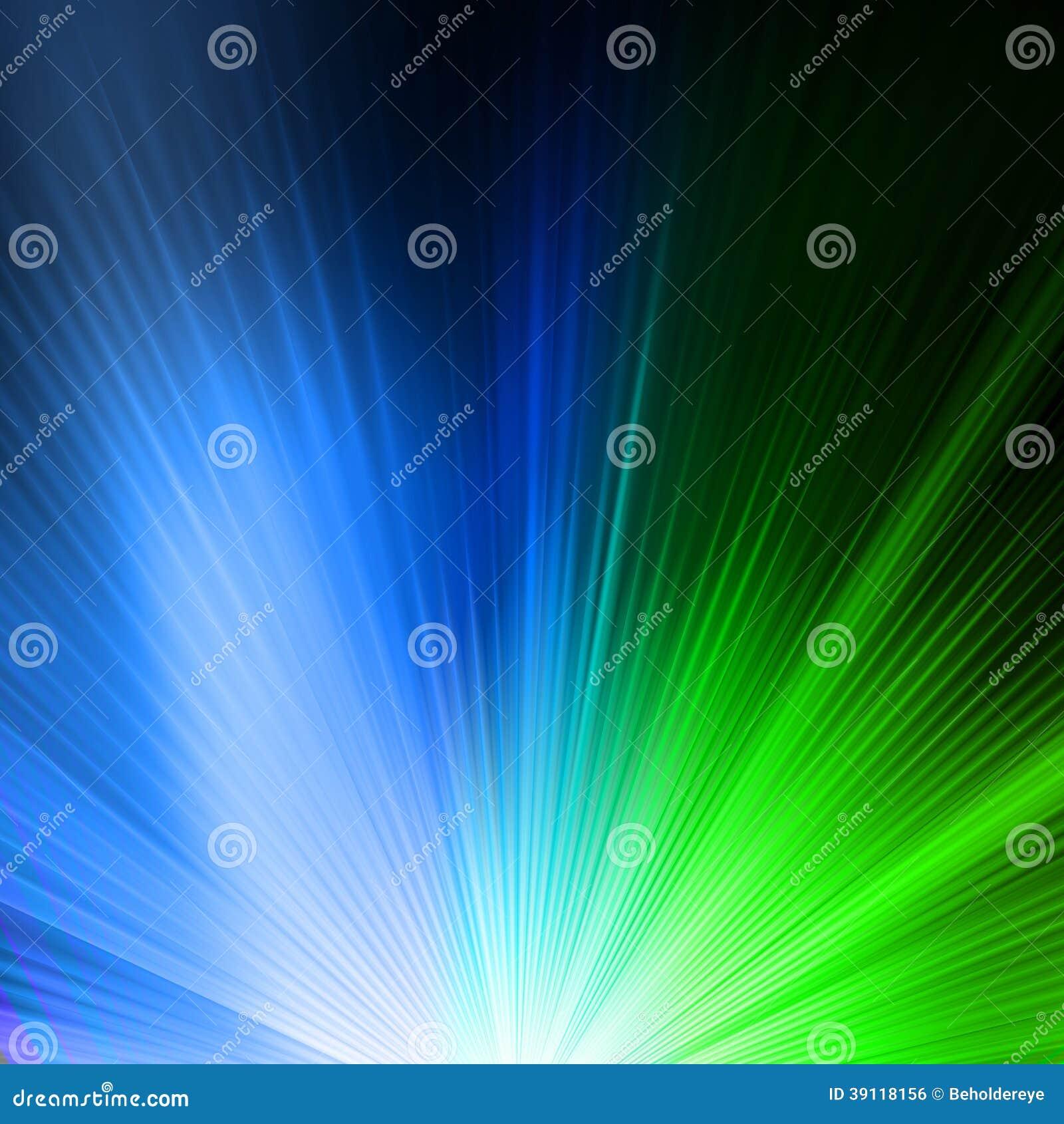Abstracte achtergrond in groenachtig blauwe tonen.
