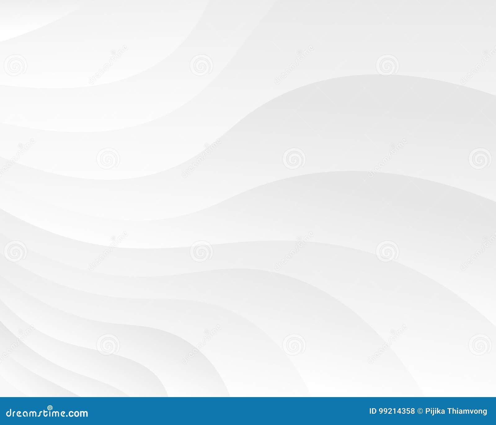Abstracte achtergrond met perspectief Witte zachte textuur