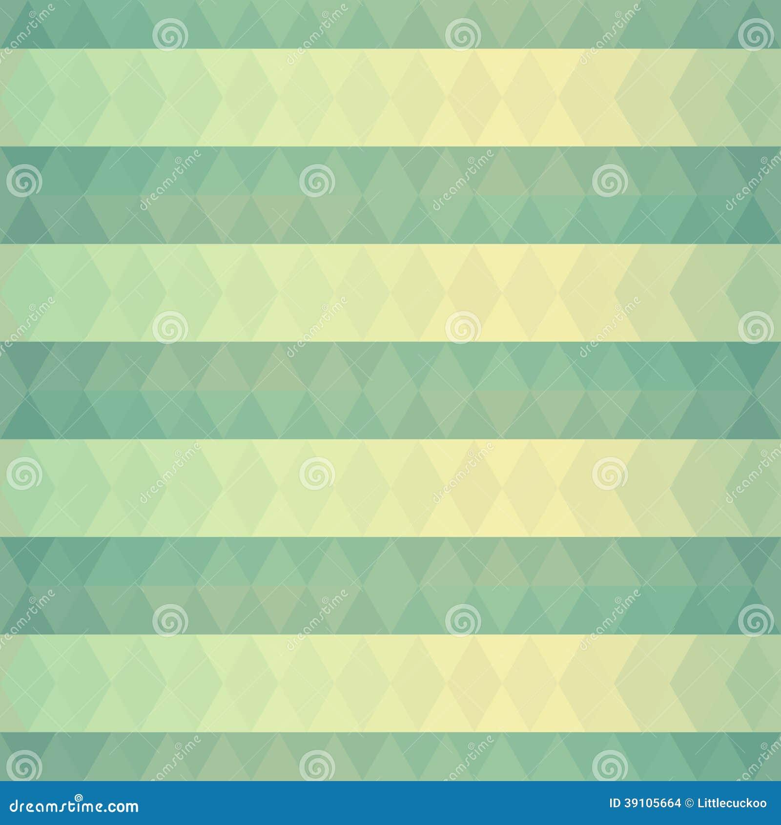 Abstracte achtergrond van groene driehoeken