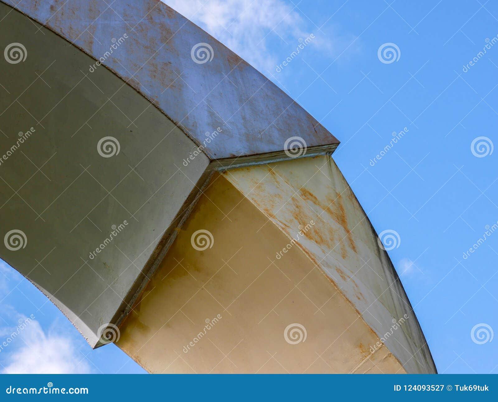 Abstracte achtergrondarchitectuurlijnen Het moderne detail van de Architectuur Geraffineerd fragment van eigentijdse bureau binne
