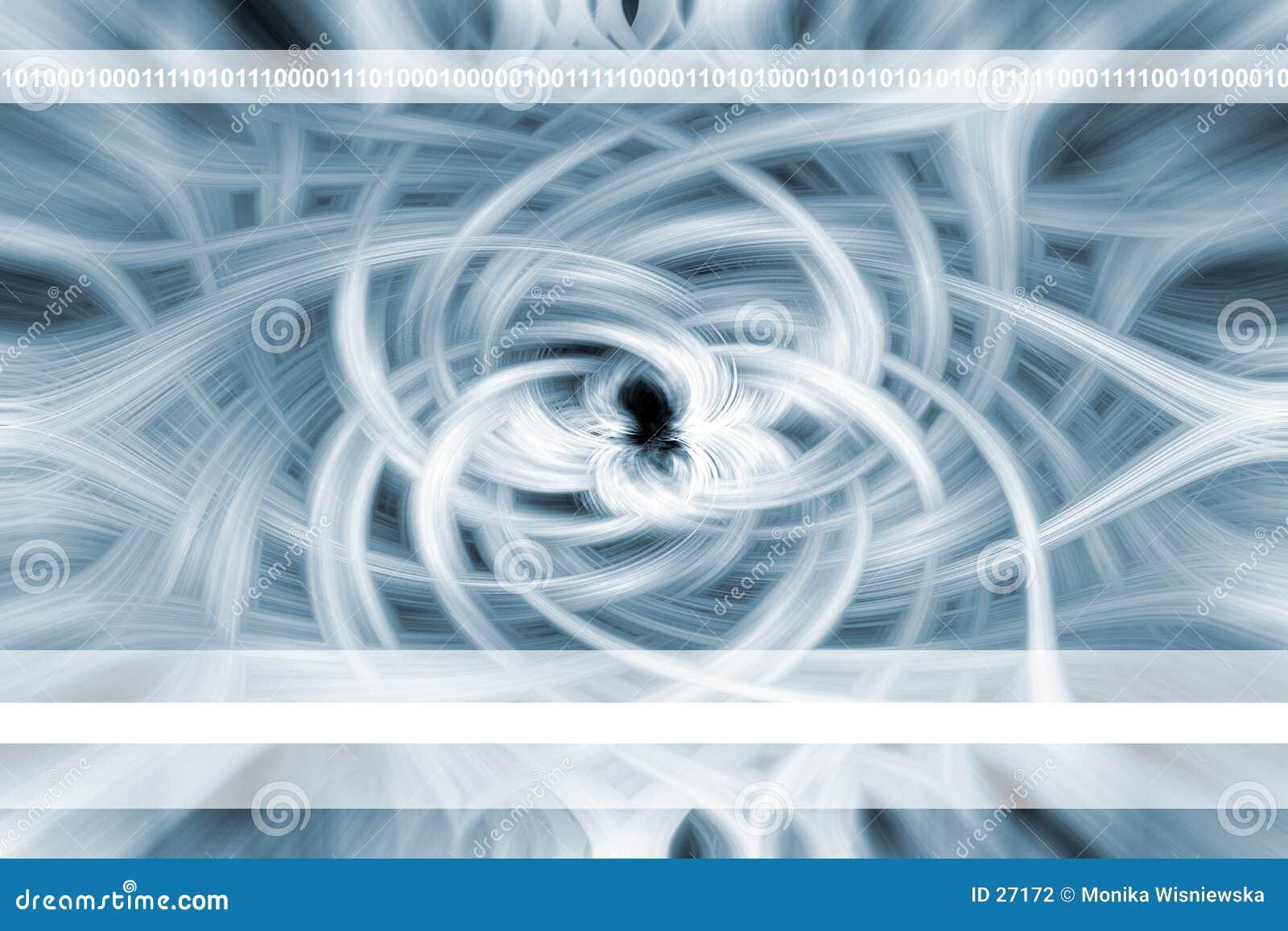 Abstracte Bloem - Achtergrond