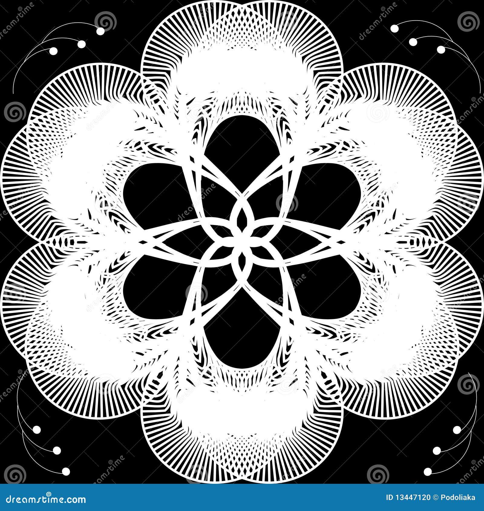 Abstracte bloemachtergrond